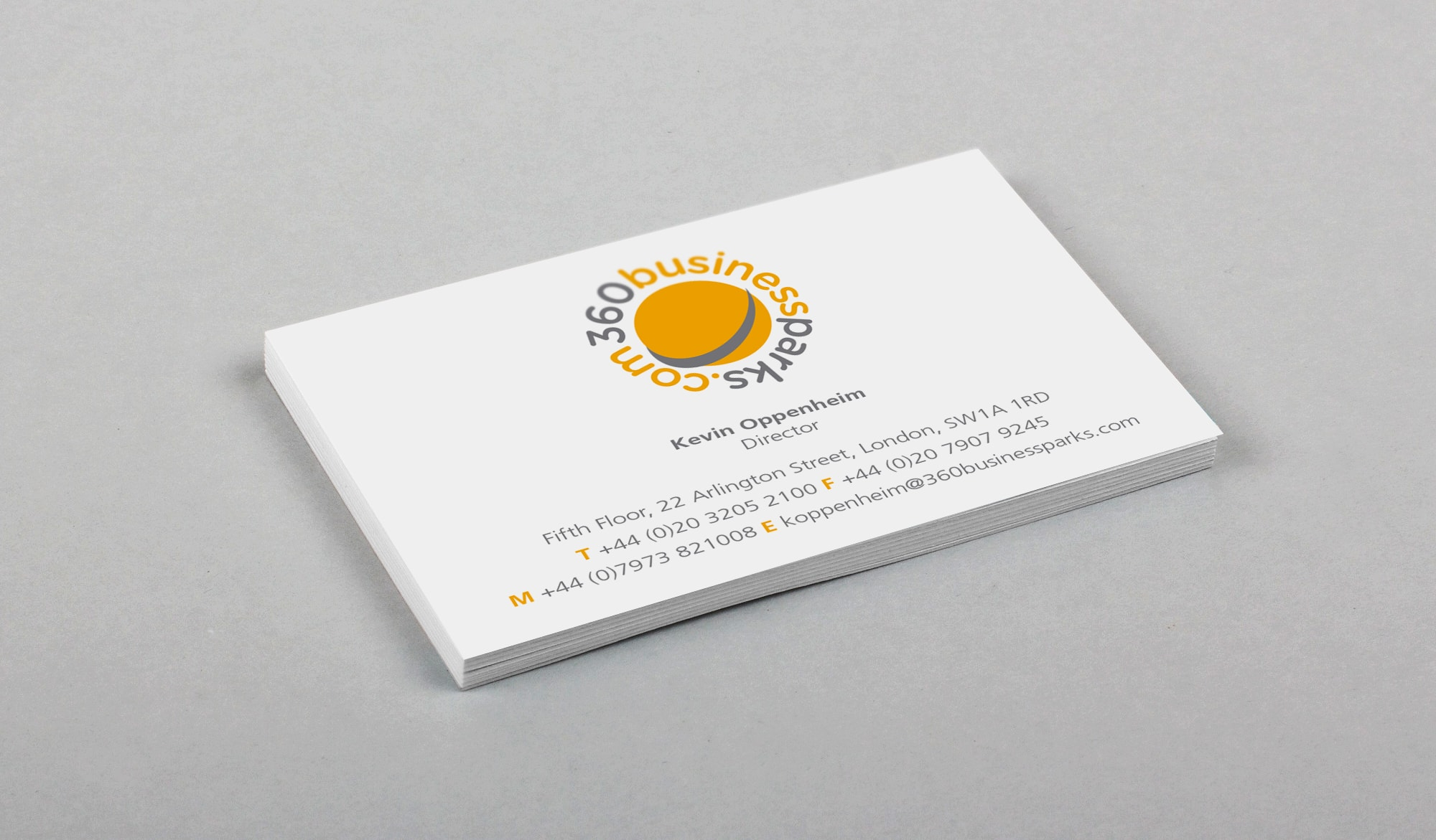 360 business park - card