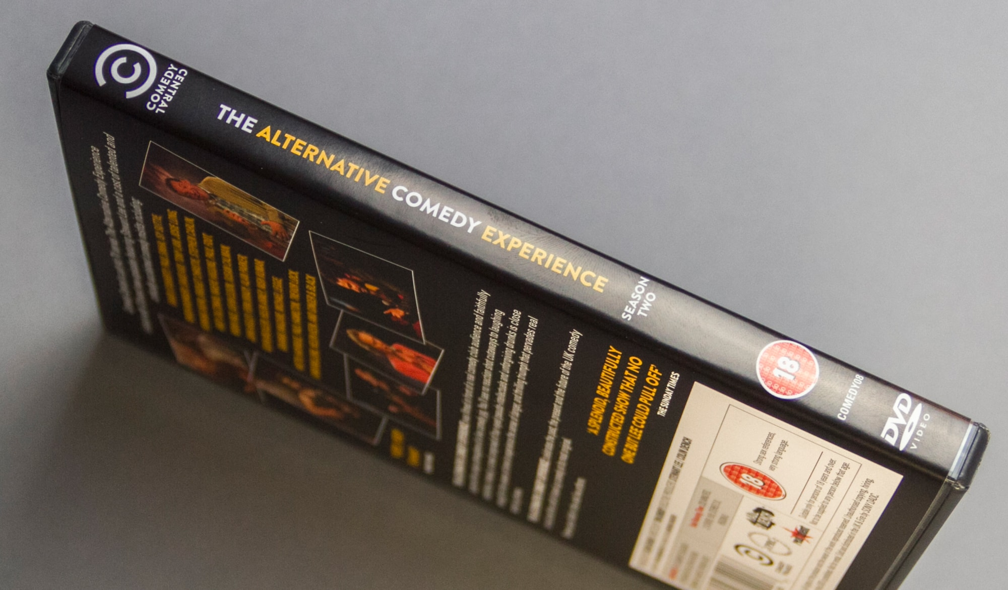 ACE Series 2 DVD spine