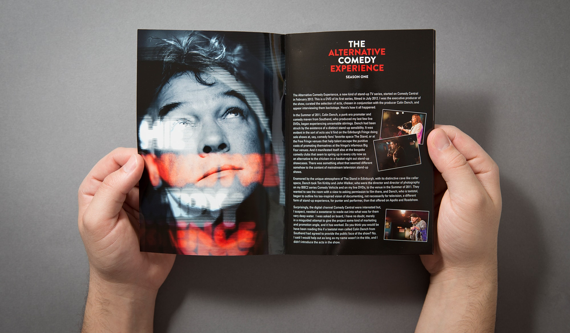The Alternative Comedy Experience - booklet
