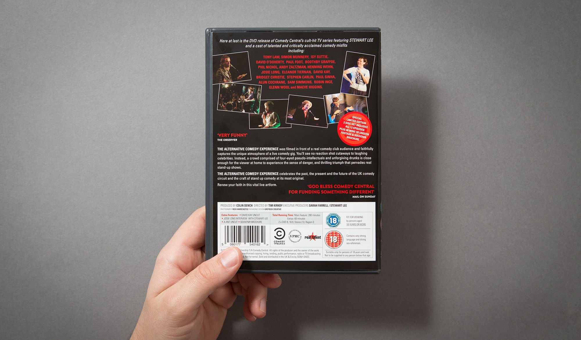 The Alternative Comedy Experience - DVD