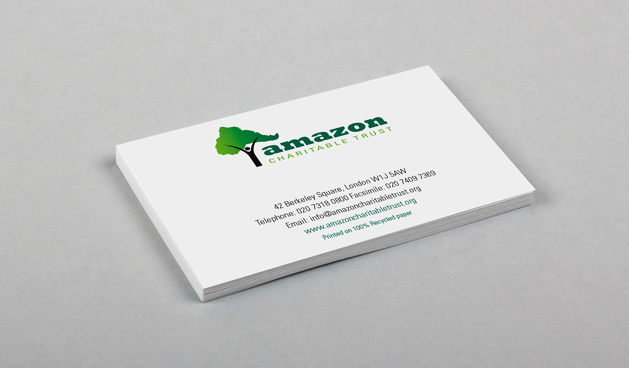 Amazon Charitable Trust - cards