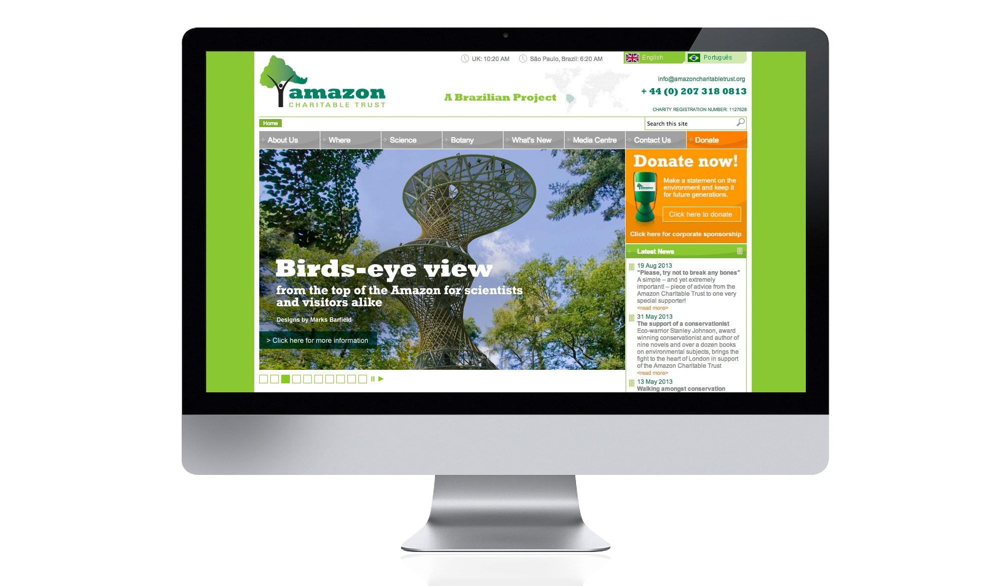 Amazon Charitable Trust - web