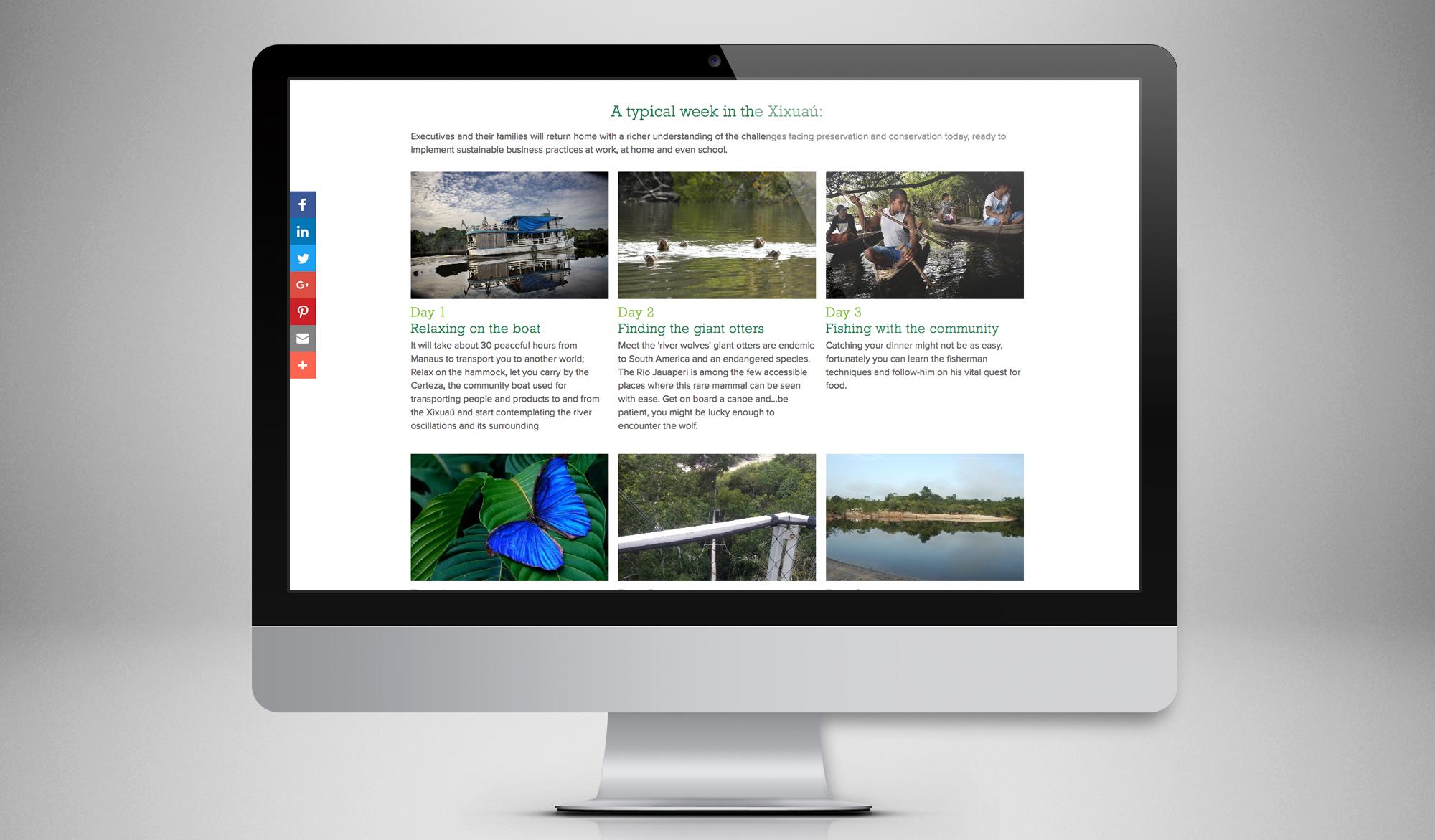 Amazon Charitable Trust website screen