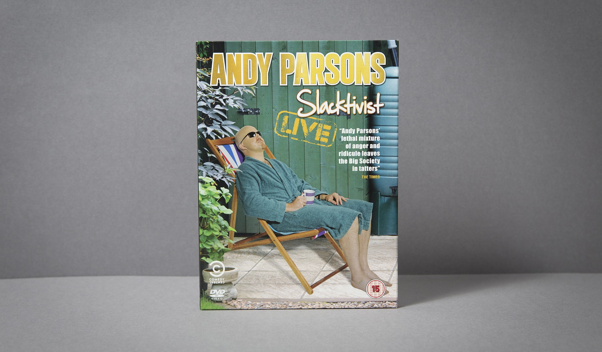 Andy Parsons DVD - front