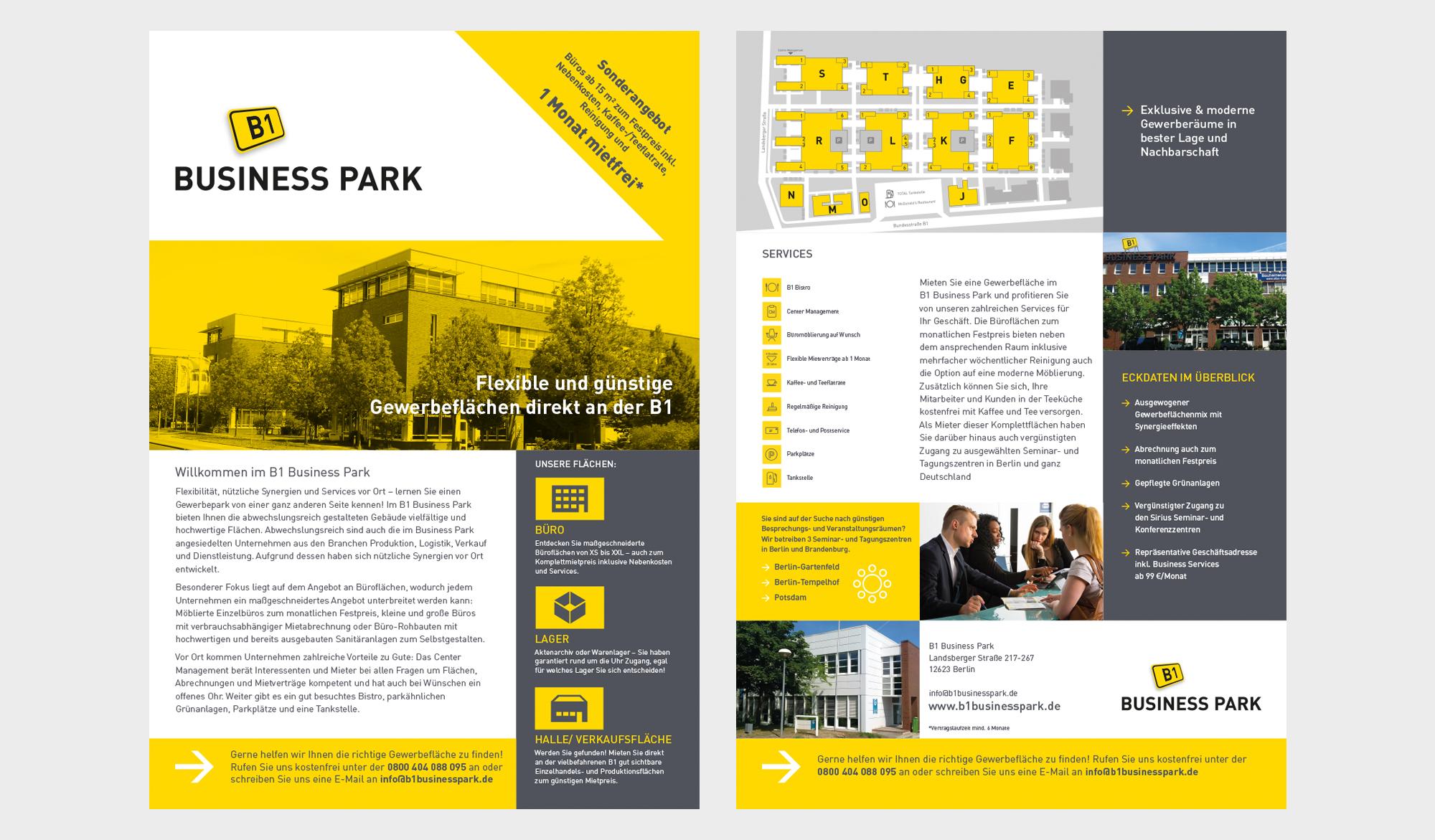 B1 Business Park brochure