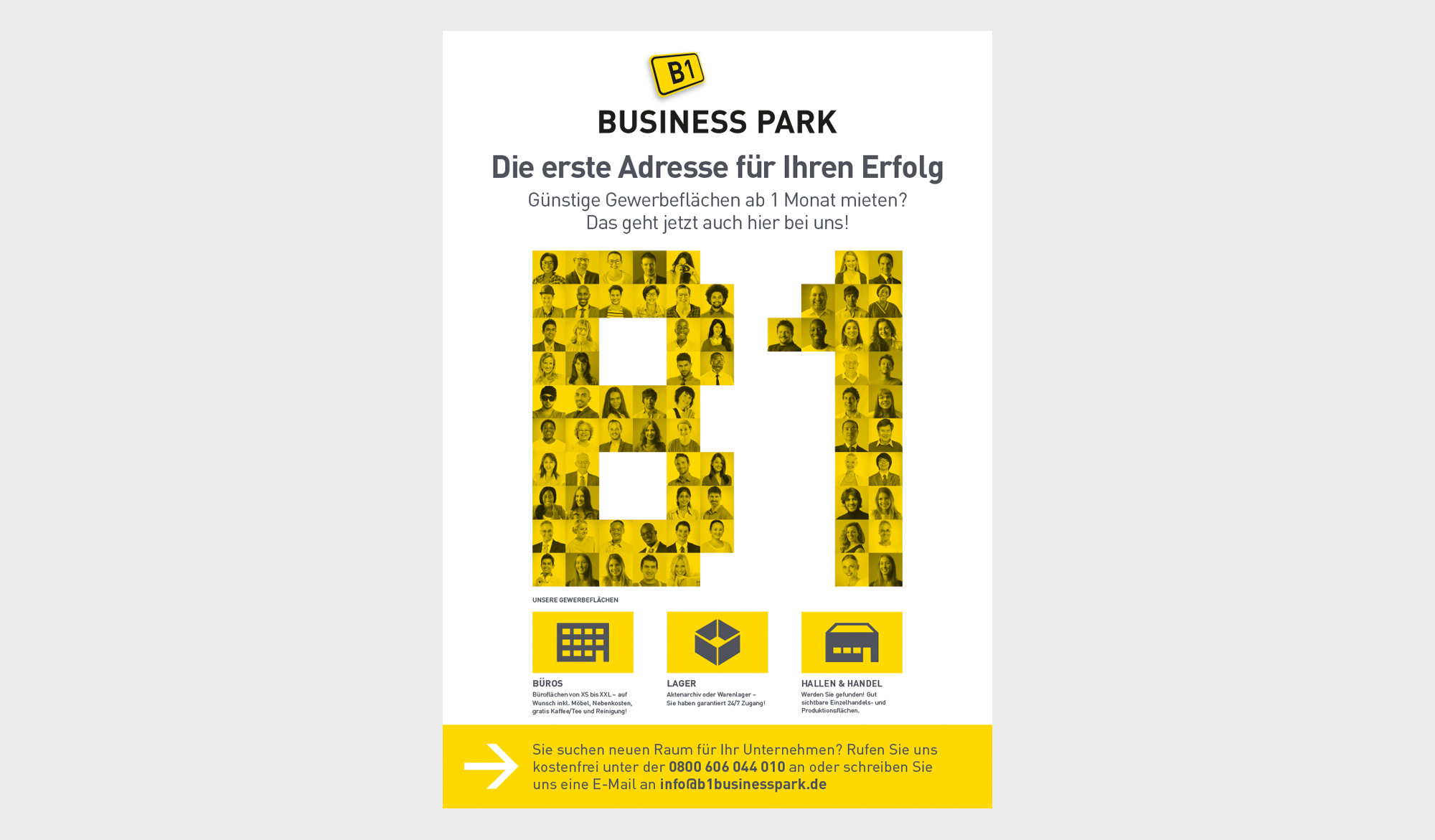 B1 Business Park poster