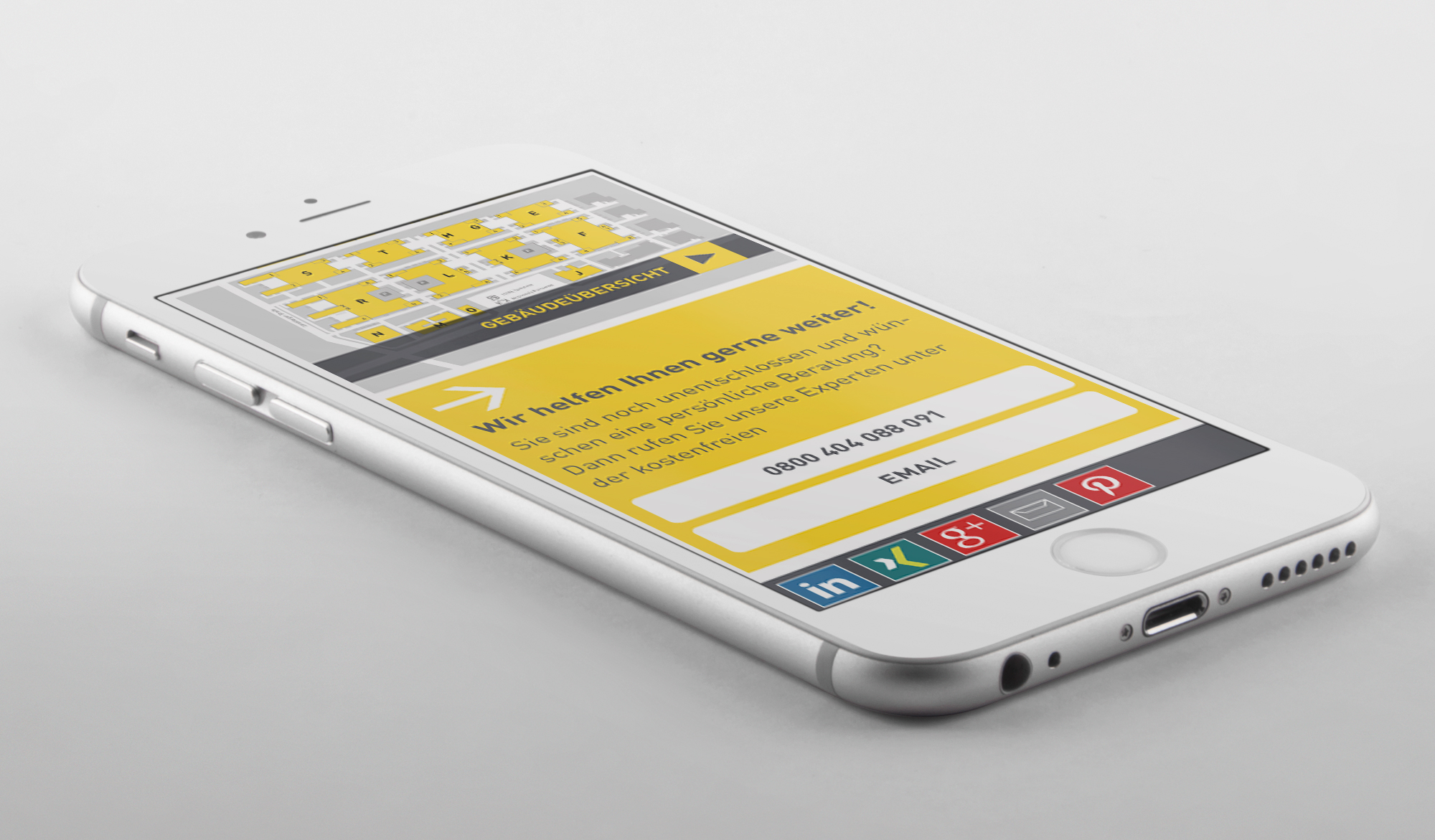 B1 Business Park mobile site