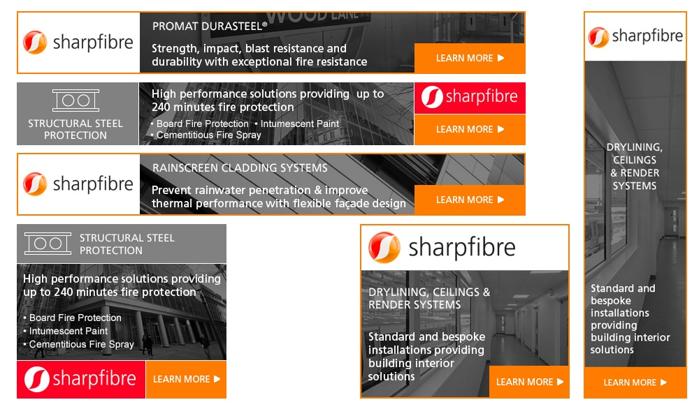 Banner adverts - sharpfibre