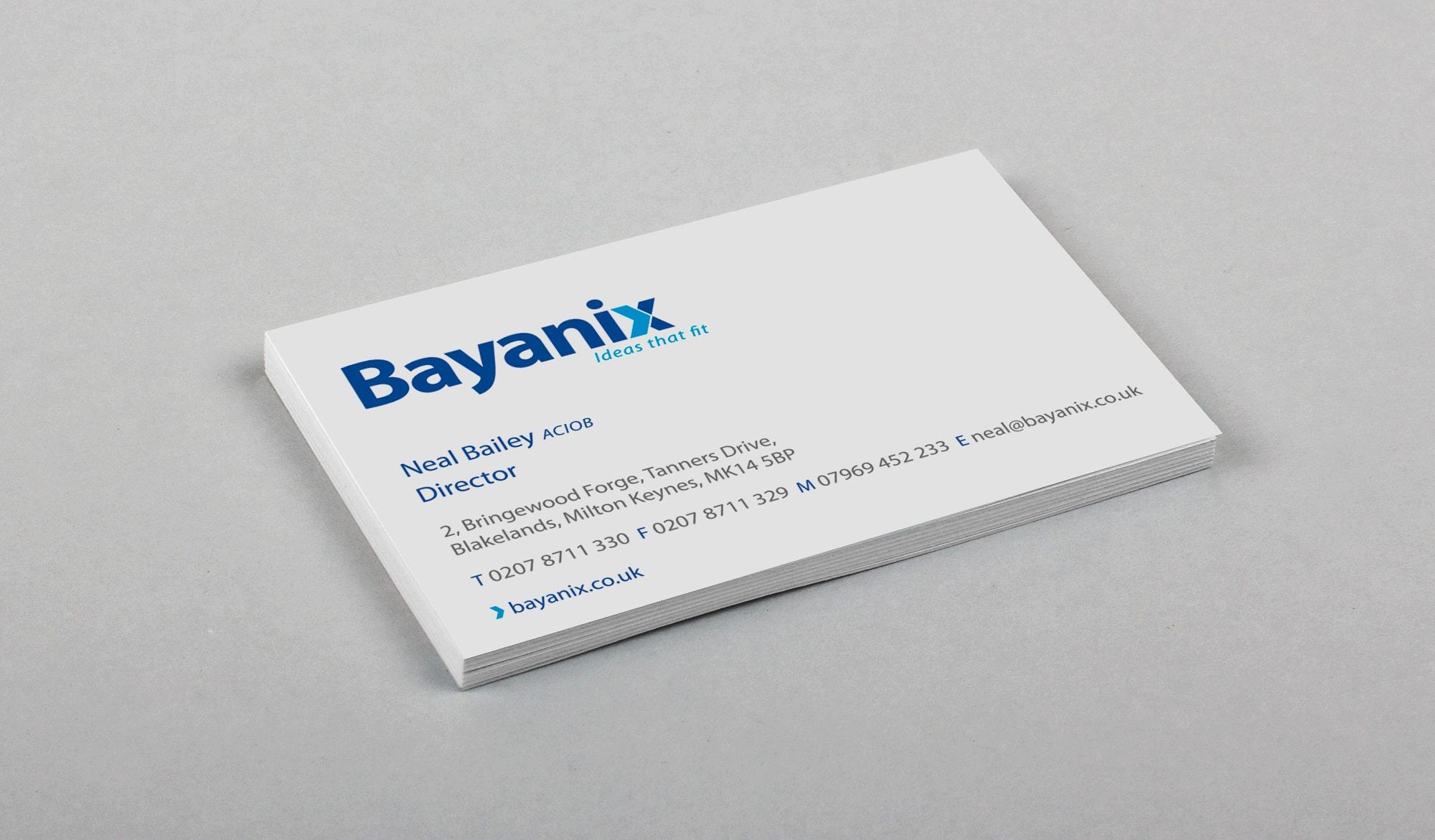 Bayanix - cards