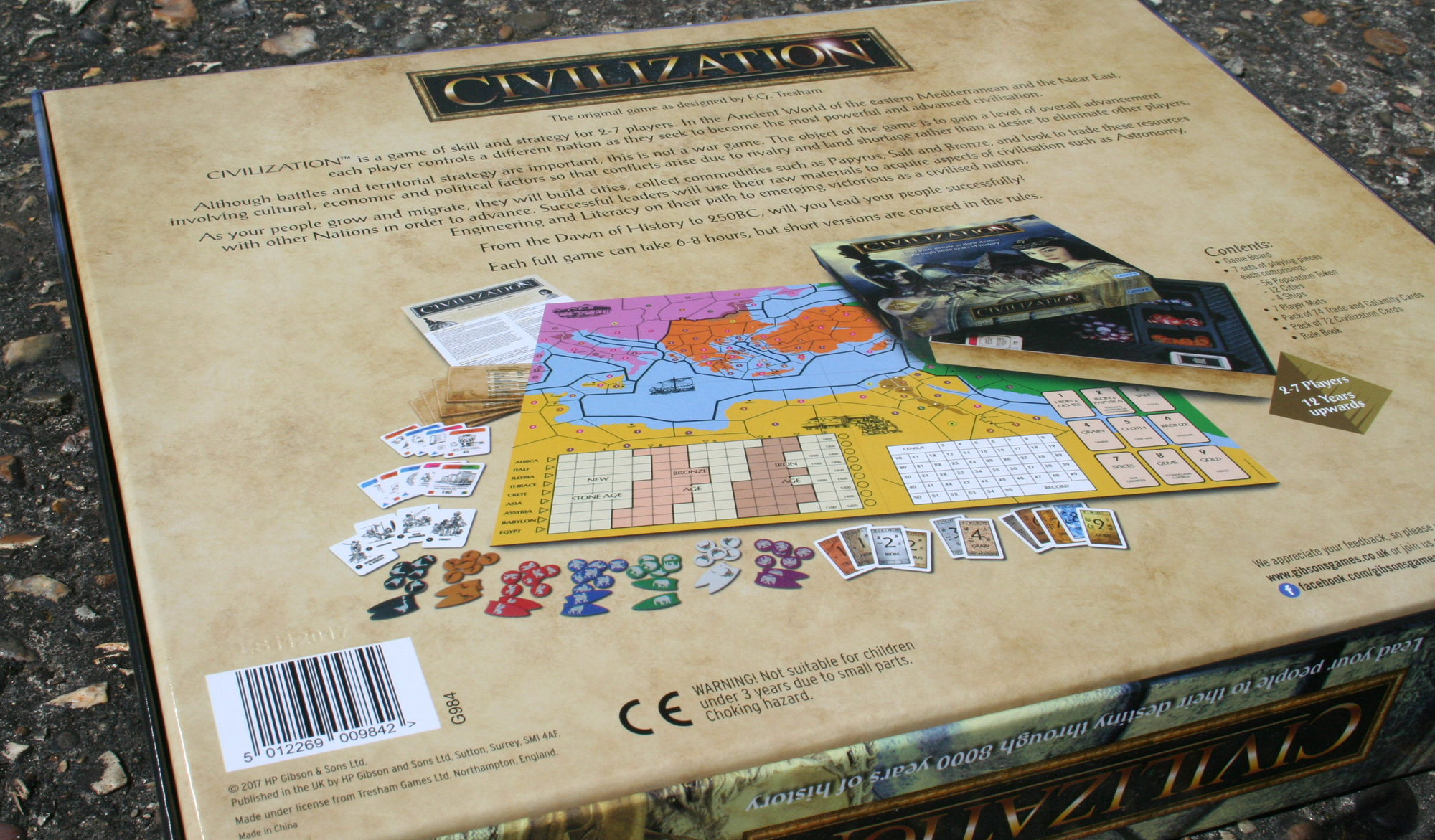 Civilization box back