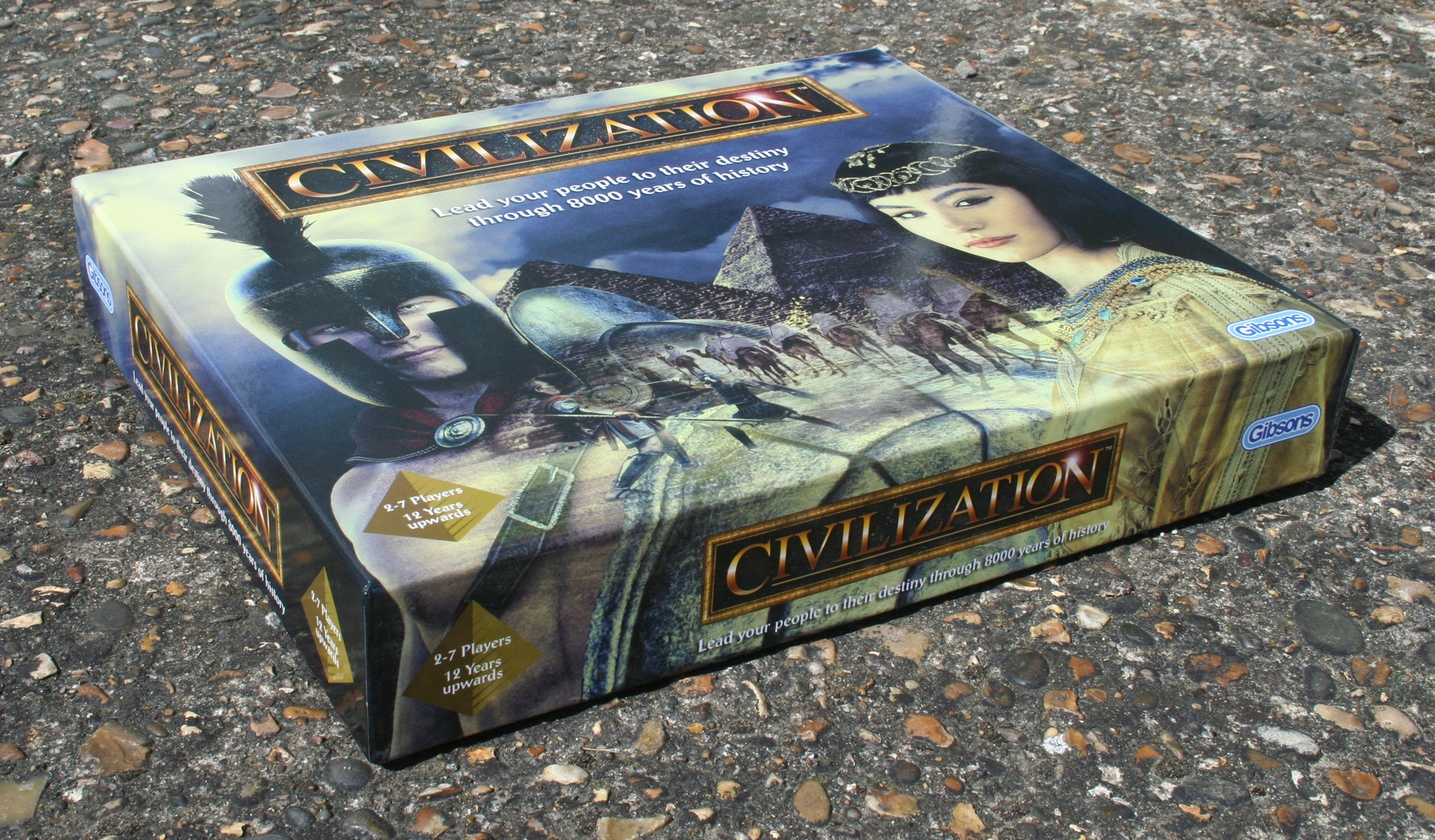 Civilization box front