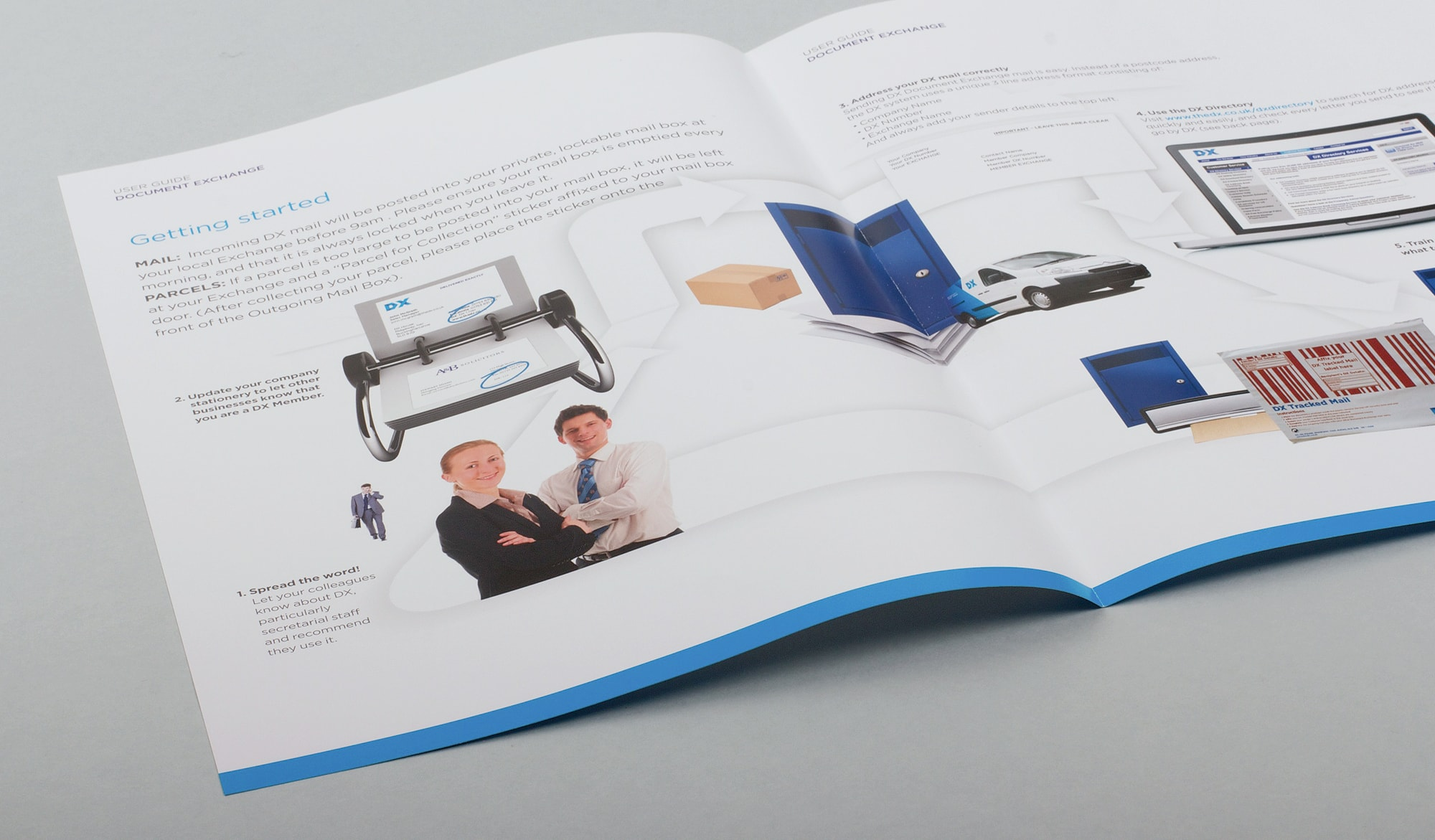 DX user guide brochure