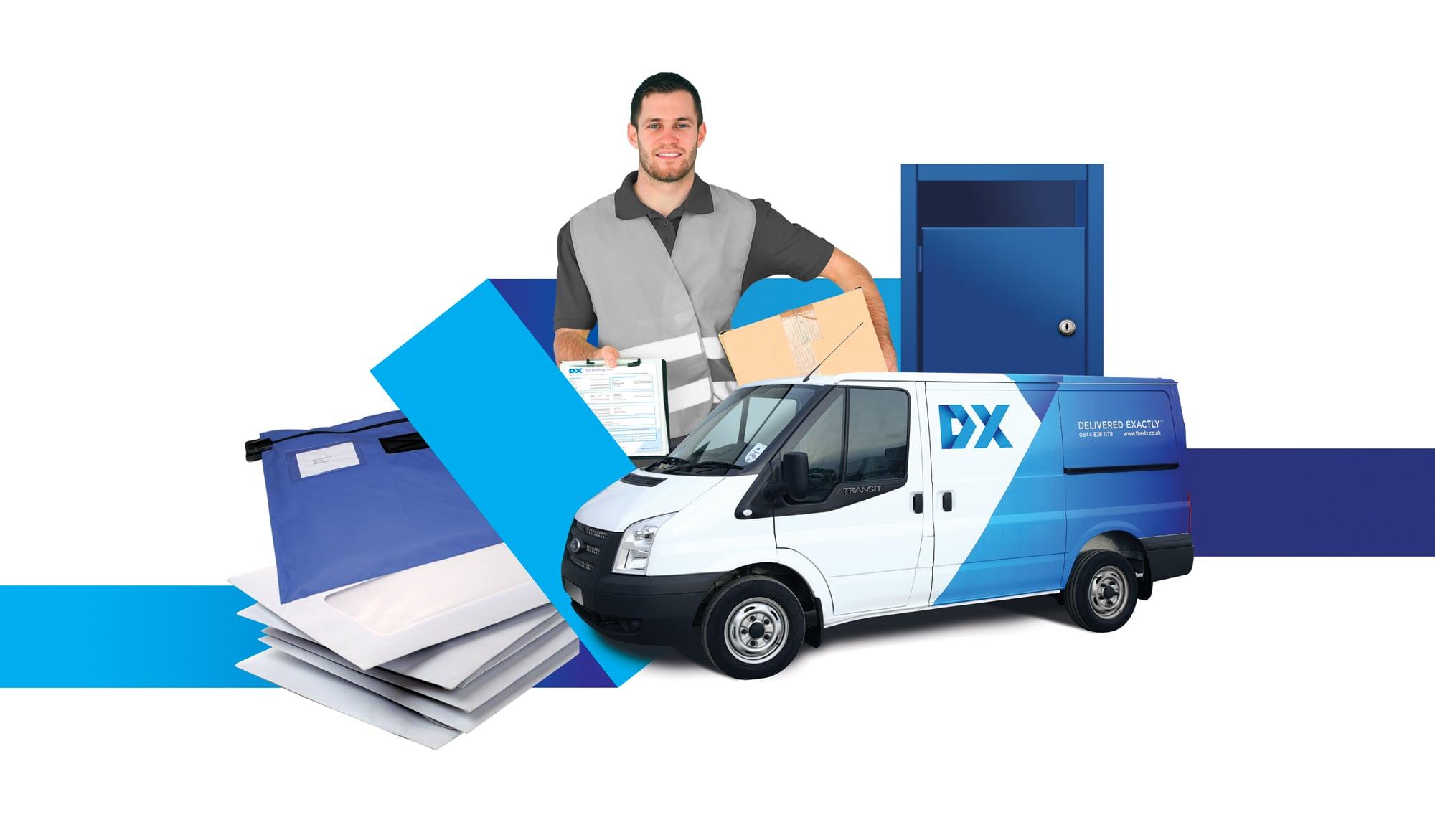 DX montage illustration