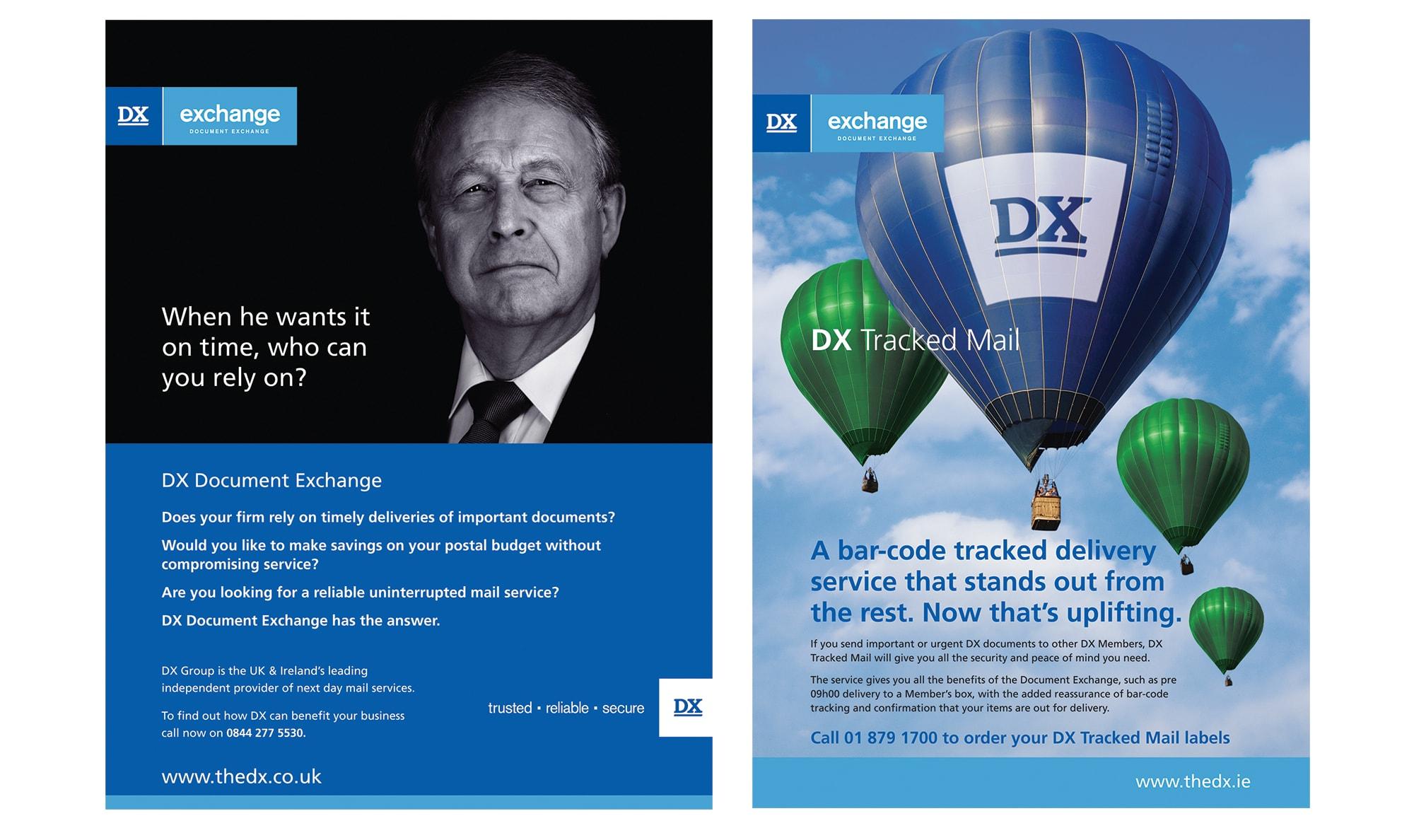 DX adverts