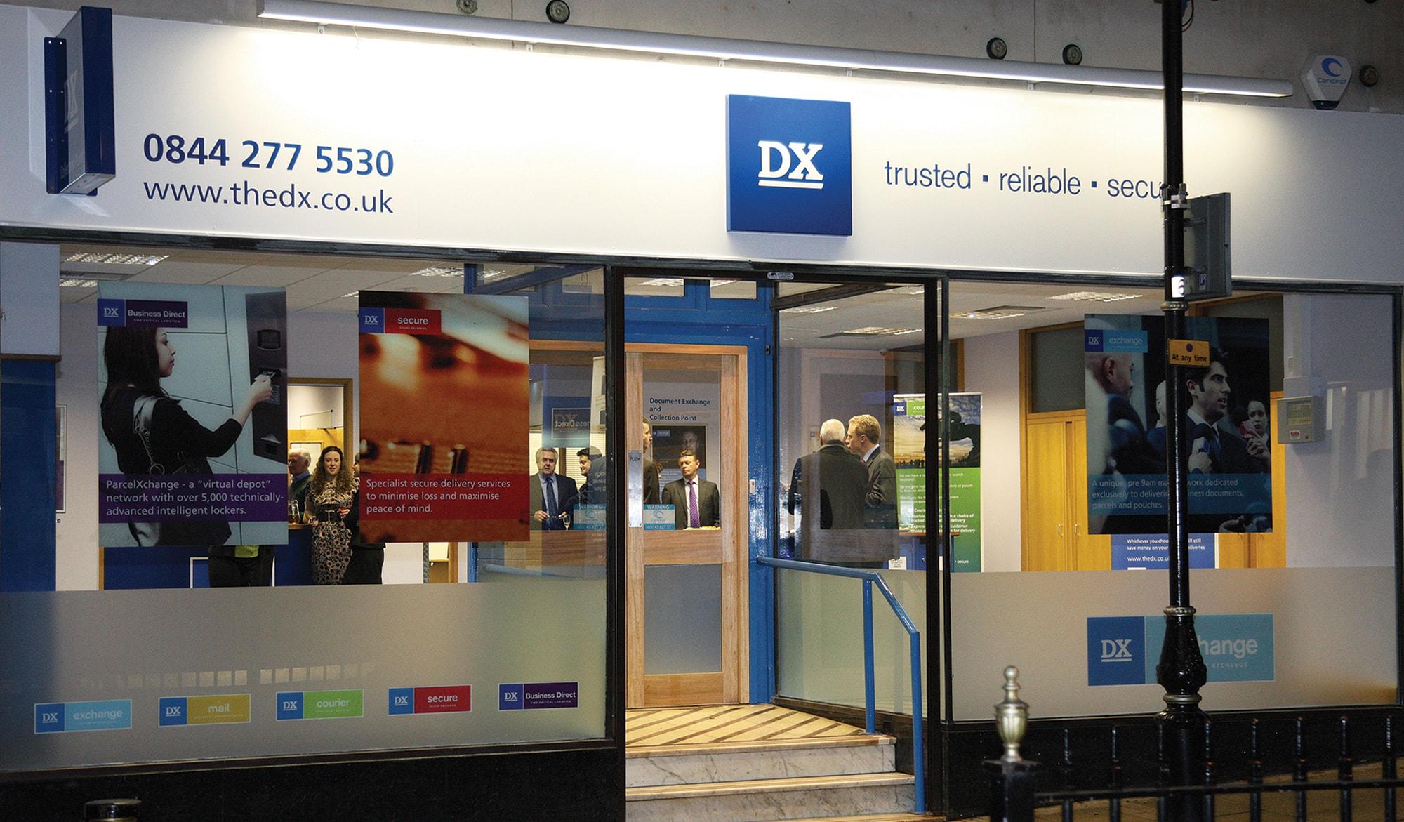 DX branch signage