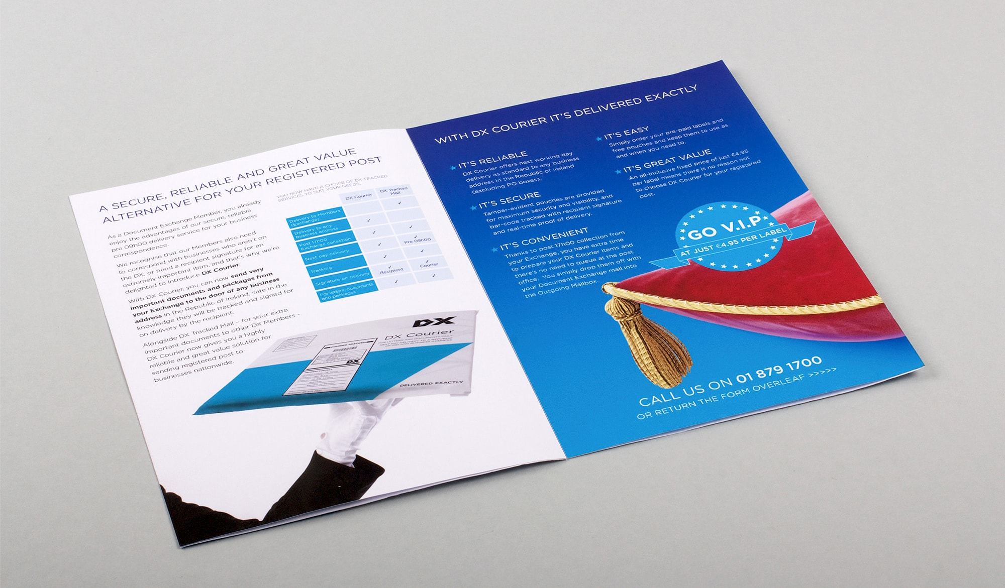 DX direct mail mailer