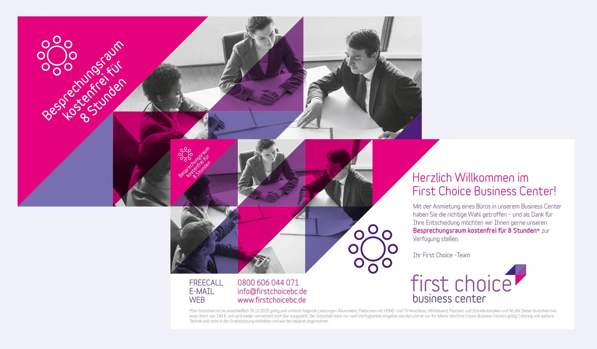 First Choice Business Centre direct mail