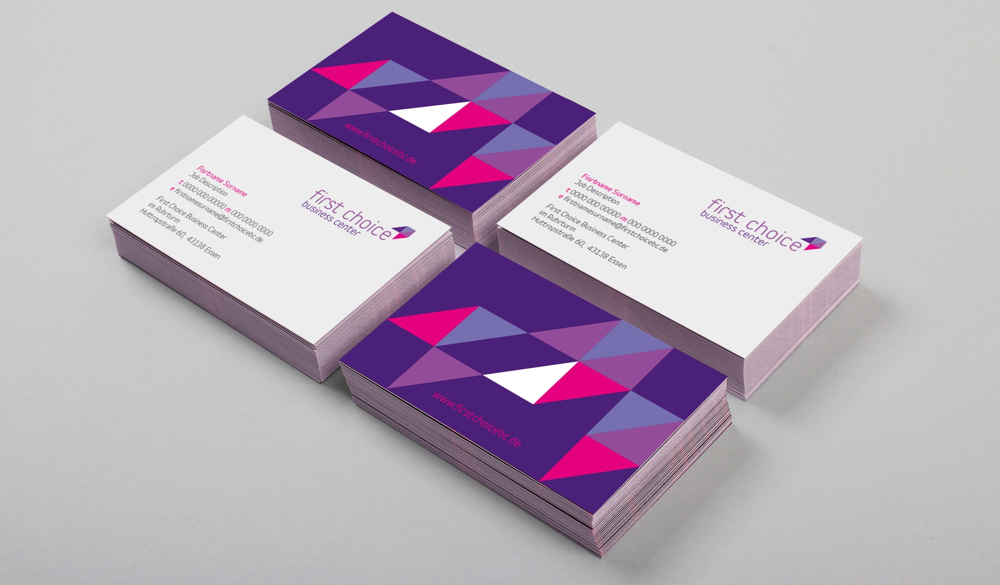 First Choice Business Centre business cards