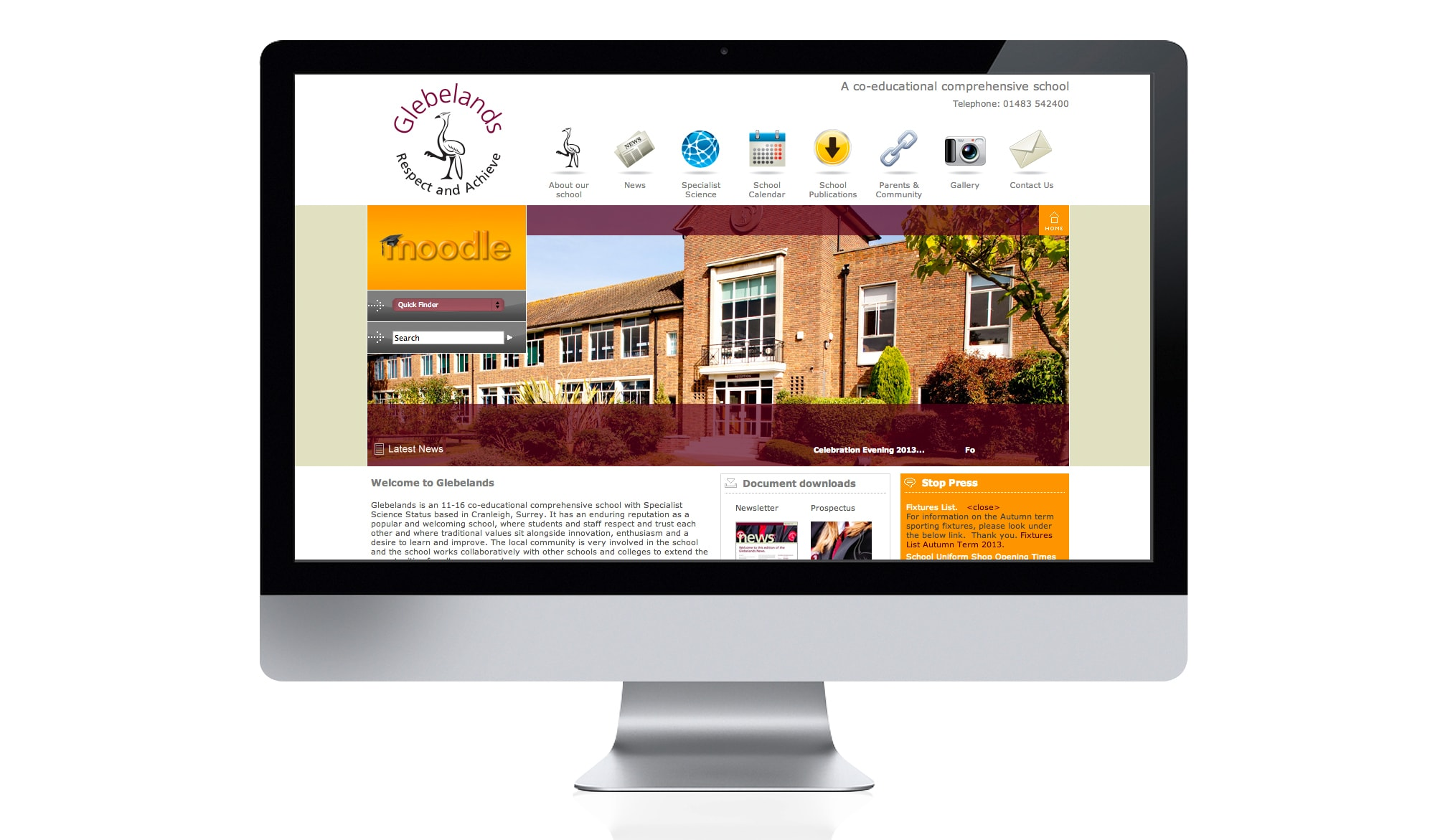 Glebelands school - web