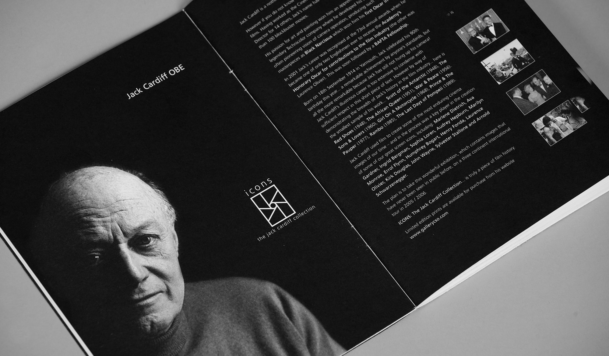 Jack Cardiff Collection - brochure