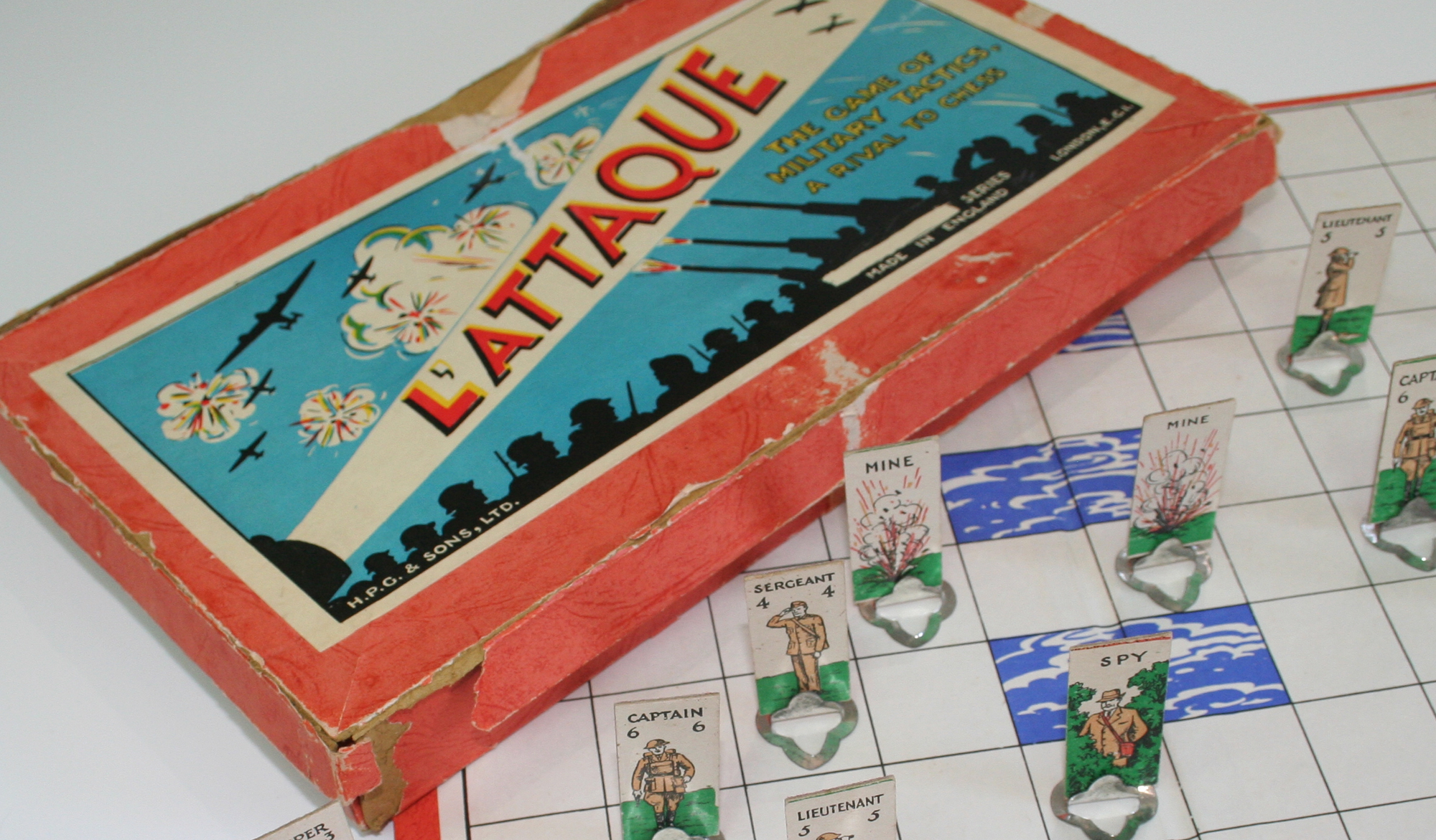 L'Attaque board game