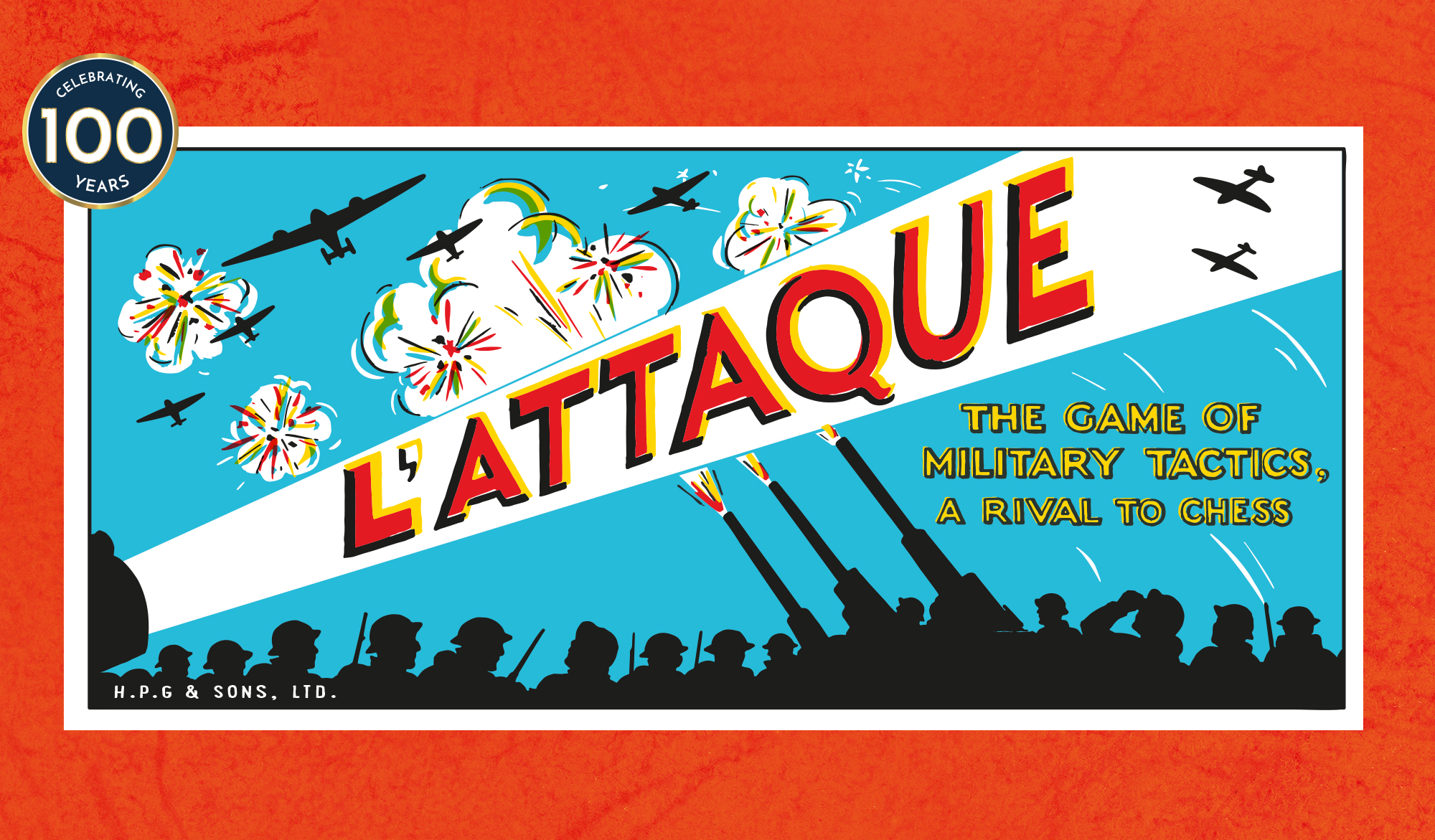L'Attaque front box illustration