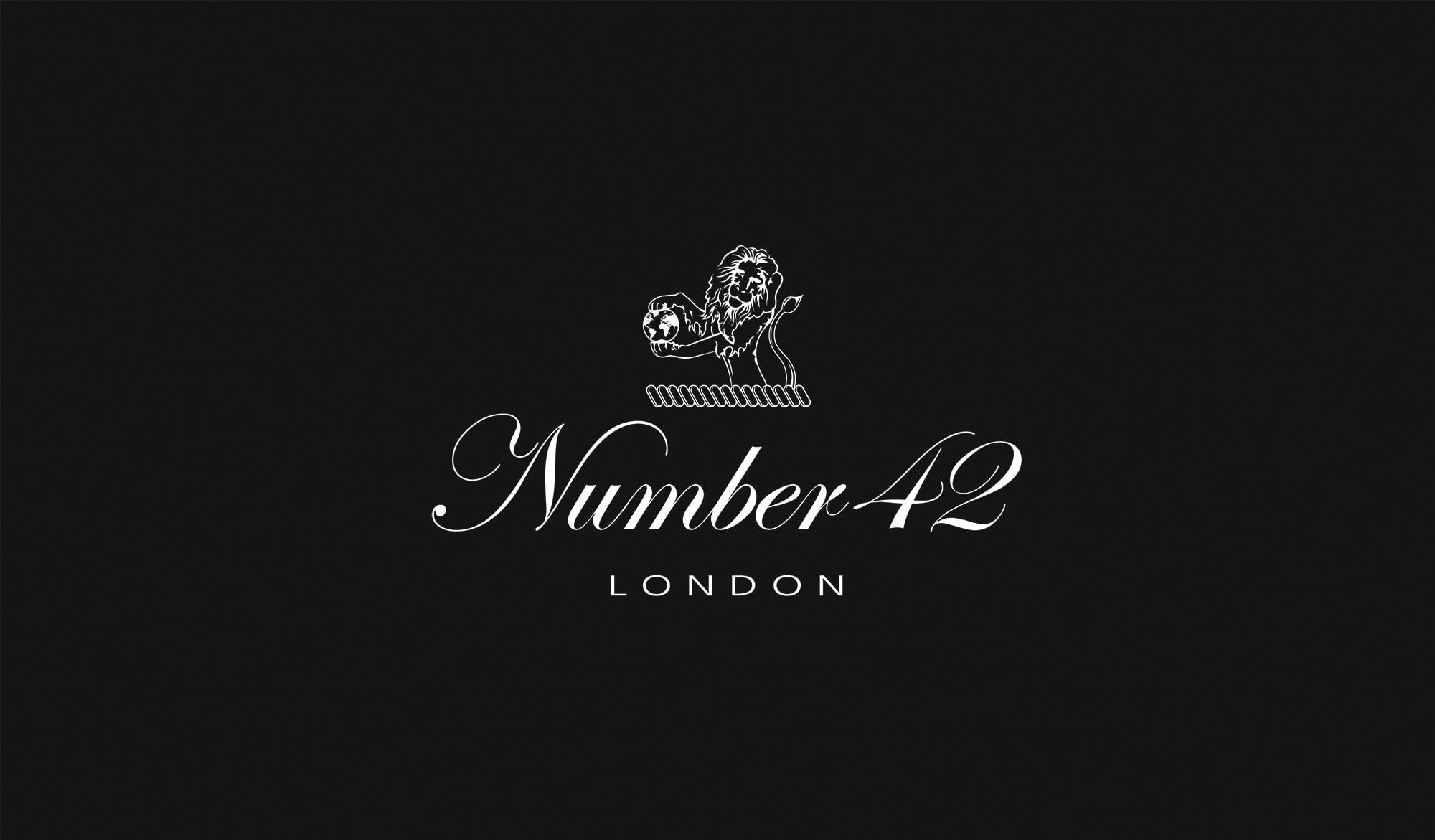 Number 42 logo