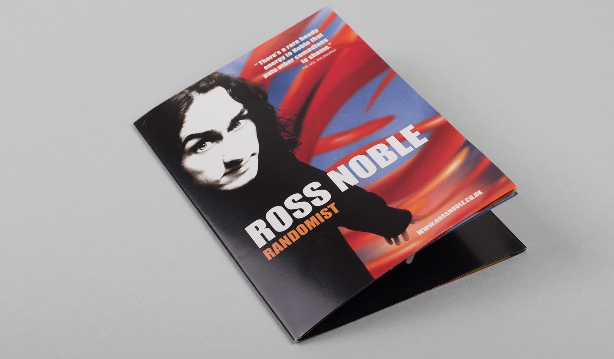 Ross Noble - Randomist - DVD booklet