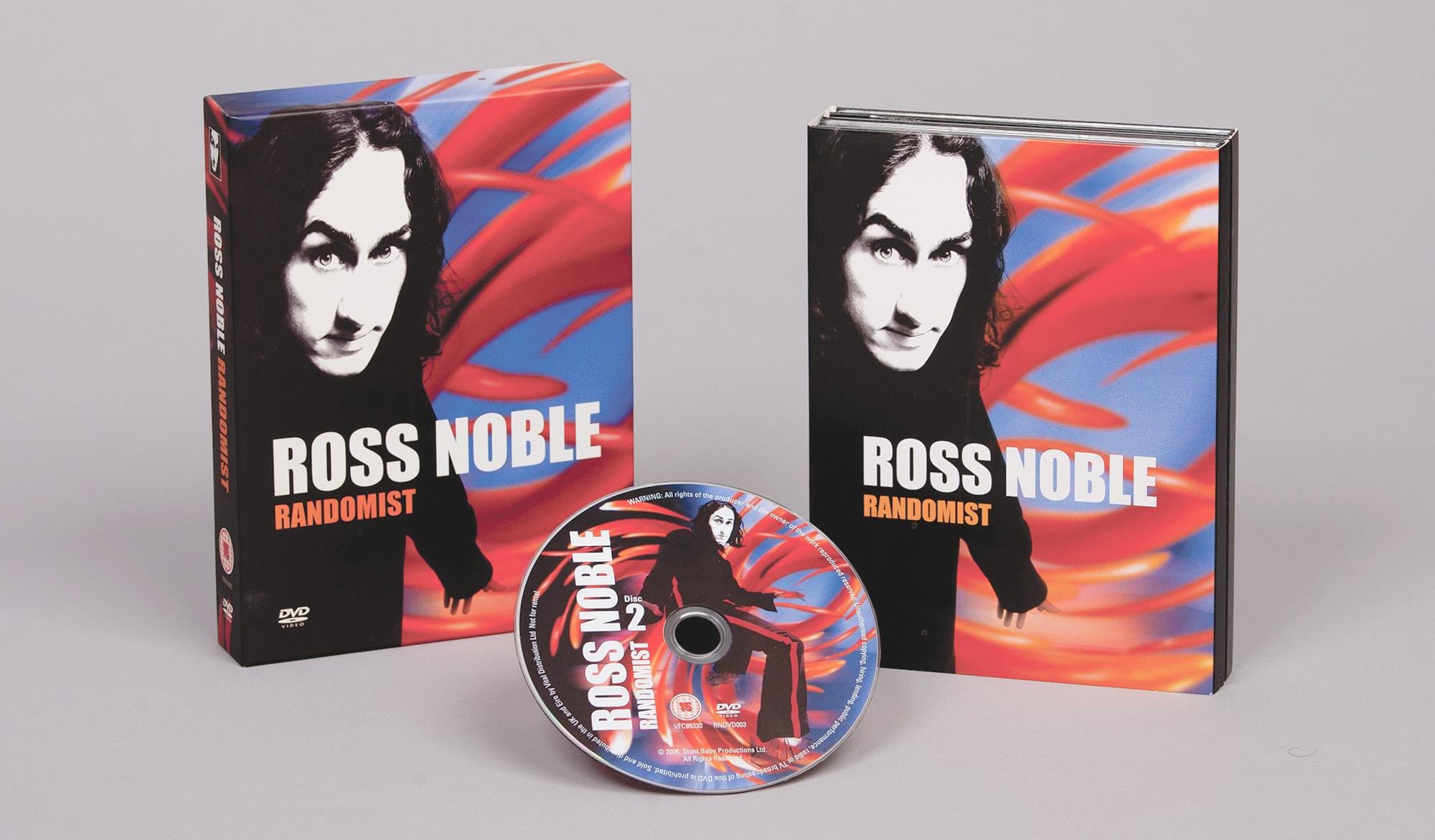 Ross Noble - Randomist - DVD packaging