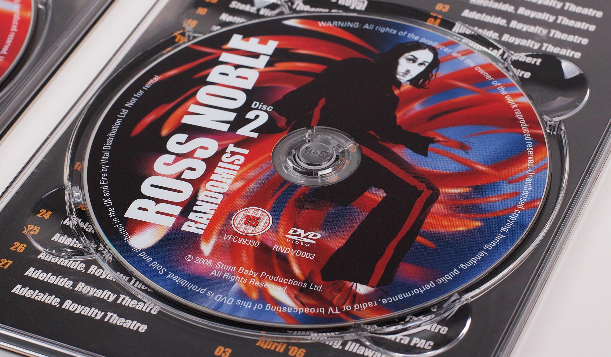 Ross Noble - Randomist - DVD in body
