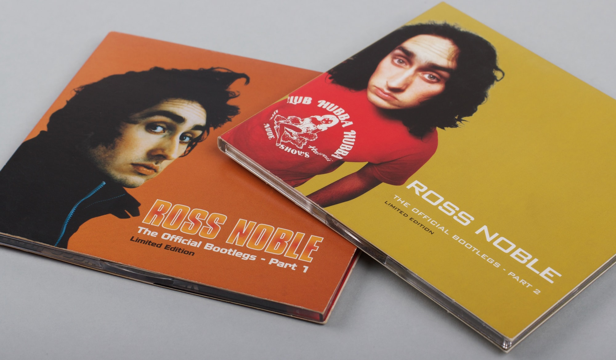 Our Work - Case Study: Ross Noble CD - The Official Bootlegs Part 1