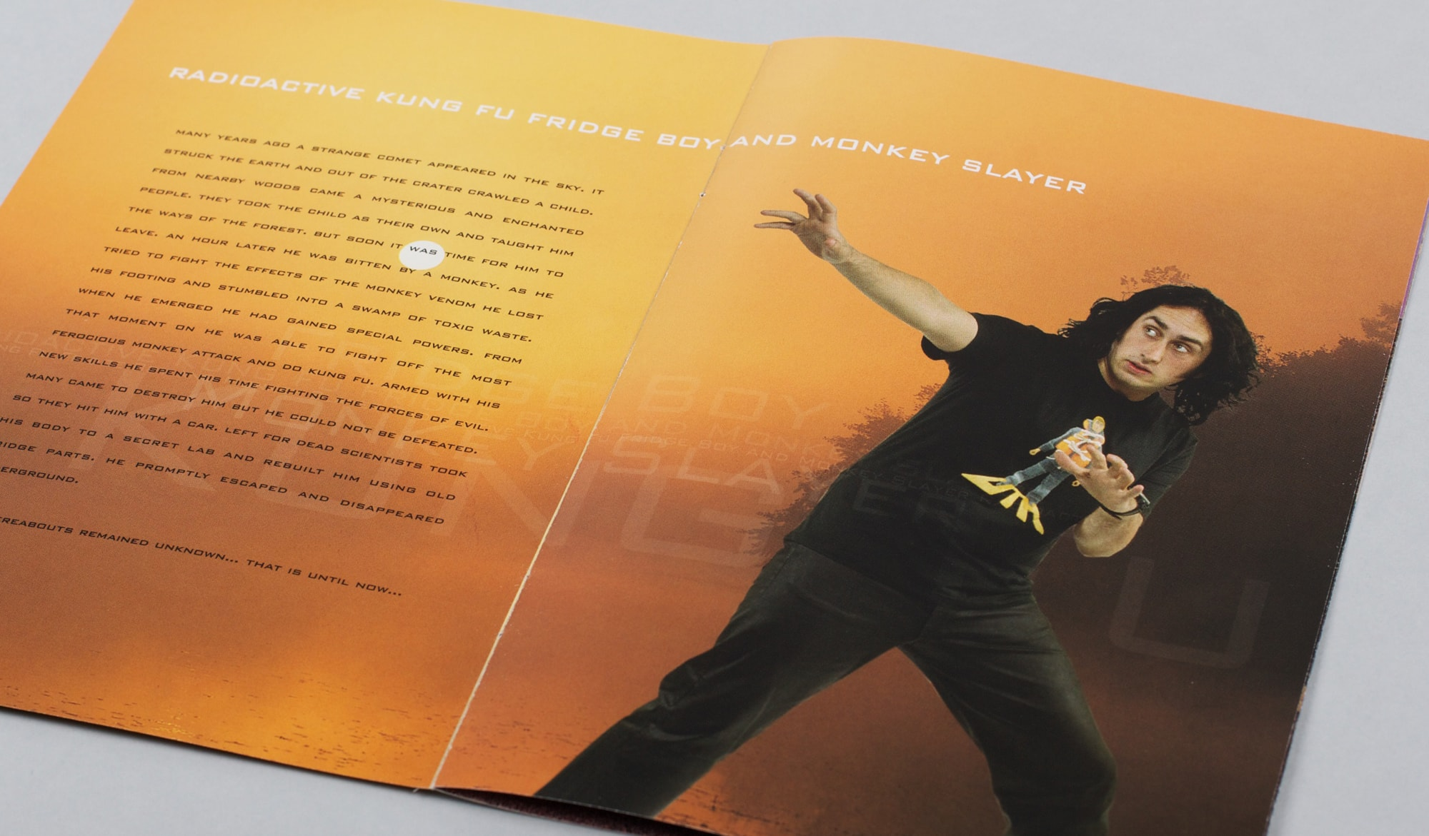 Ross Noble - Sonic Waffle DVD - programme