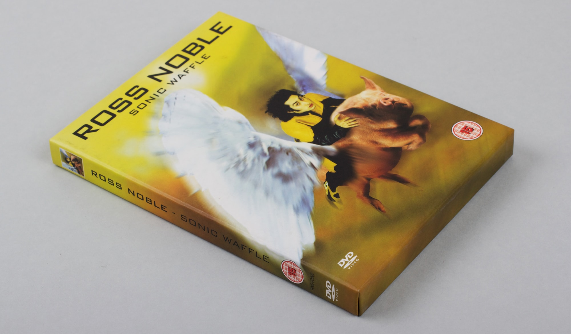 Ross Noble - Sonic Waffle DVD - cover