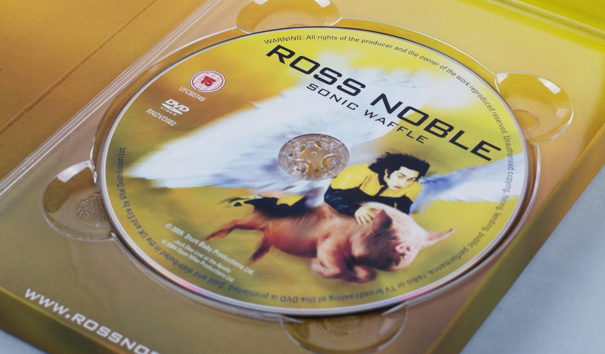 Ross Noble - Sonic Waffle DVD - inside