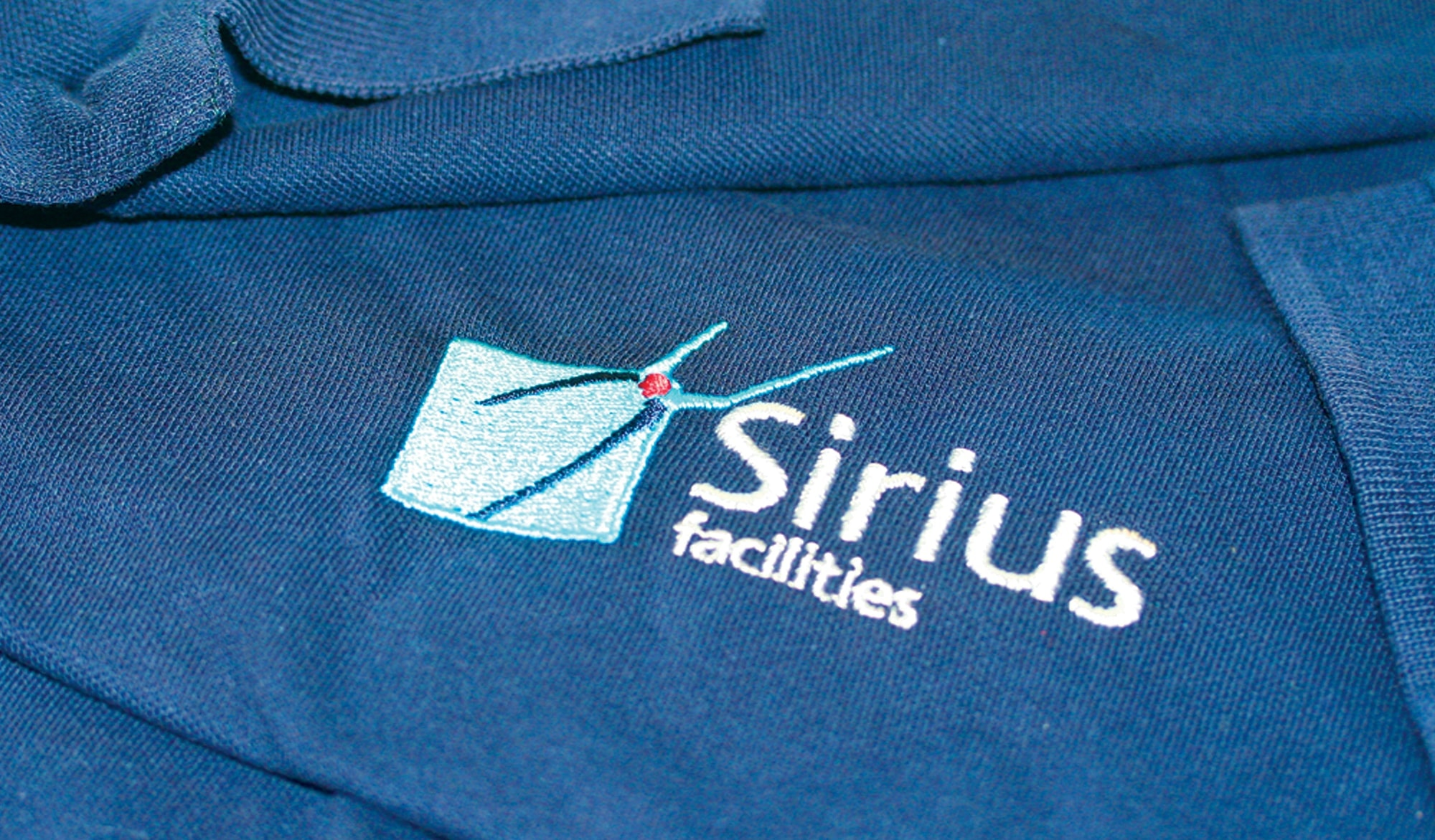 Sirius Facilities promotional t shirt