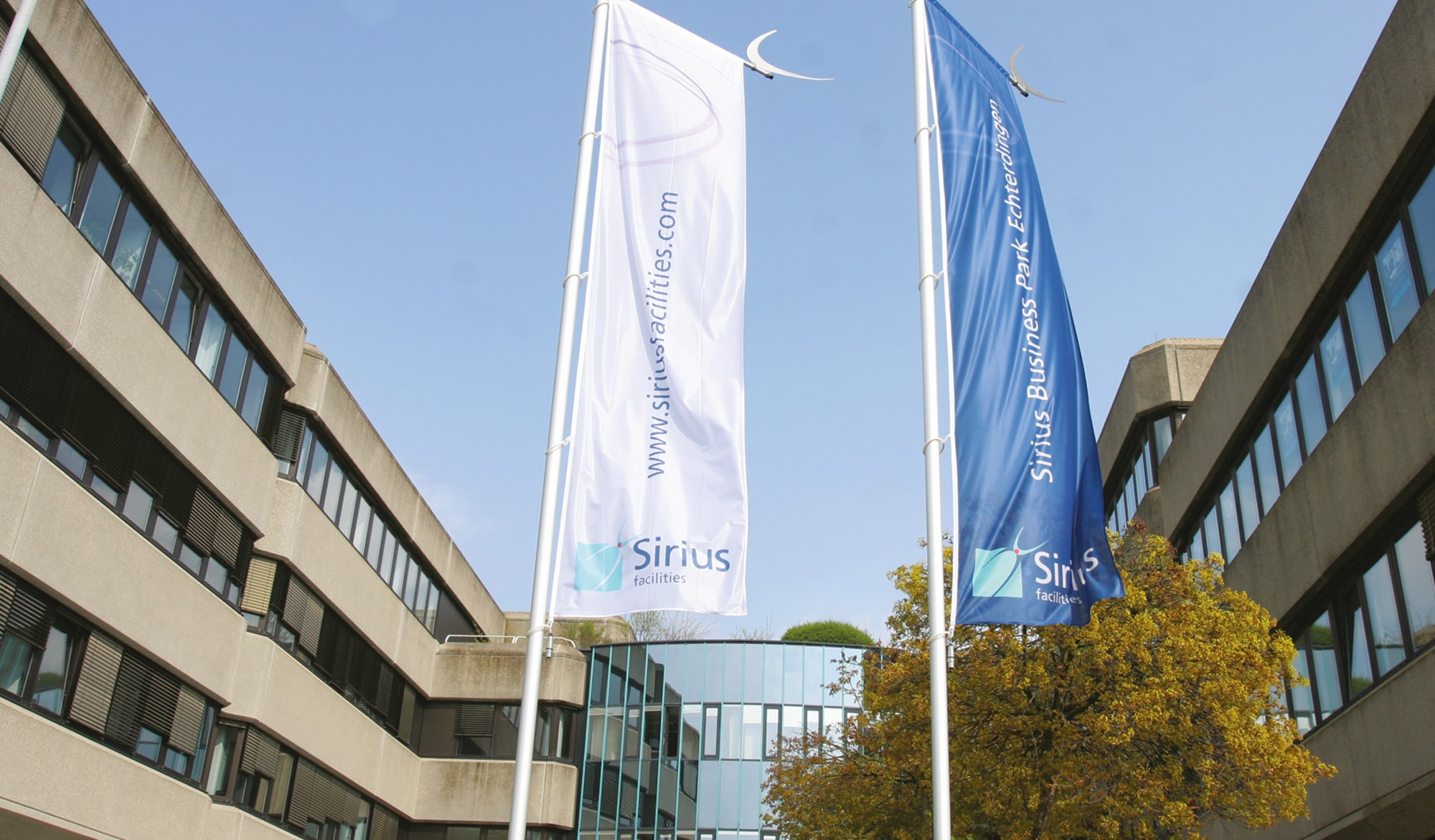 Sirius Facilities external flags