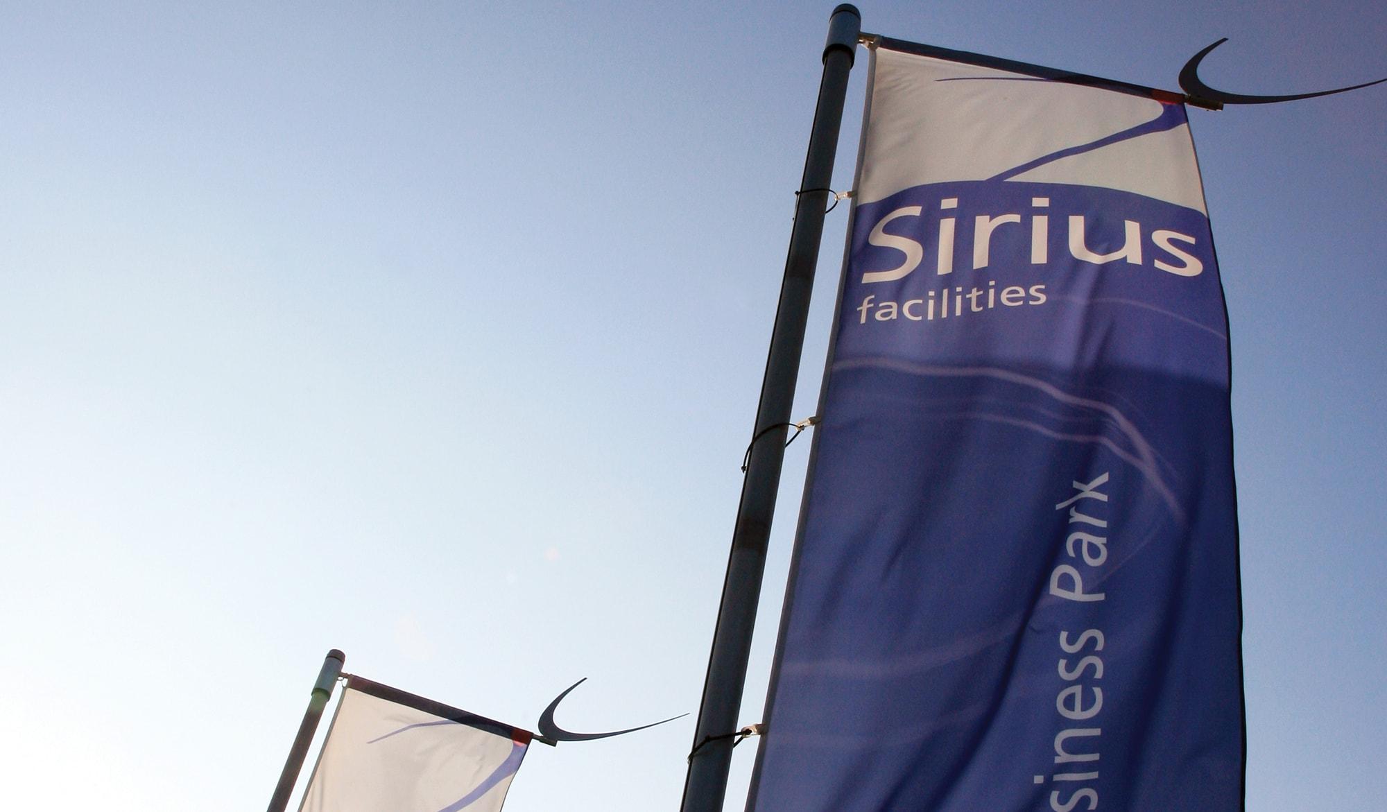 Sirius Facilities flags