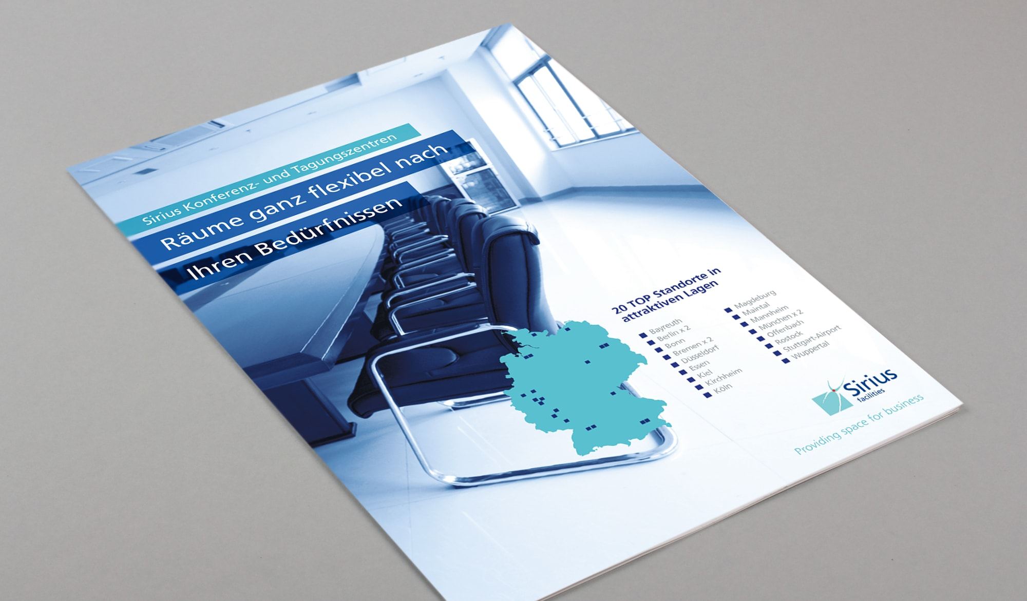 Sirius Facilities conferencing brochure
