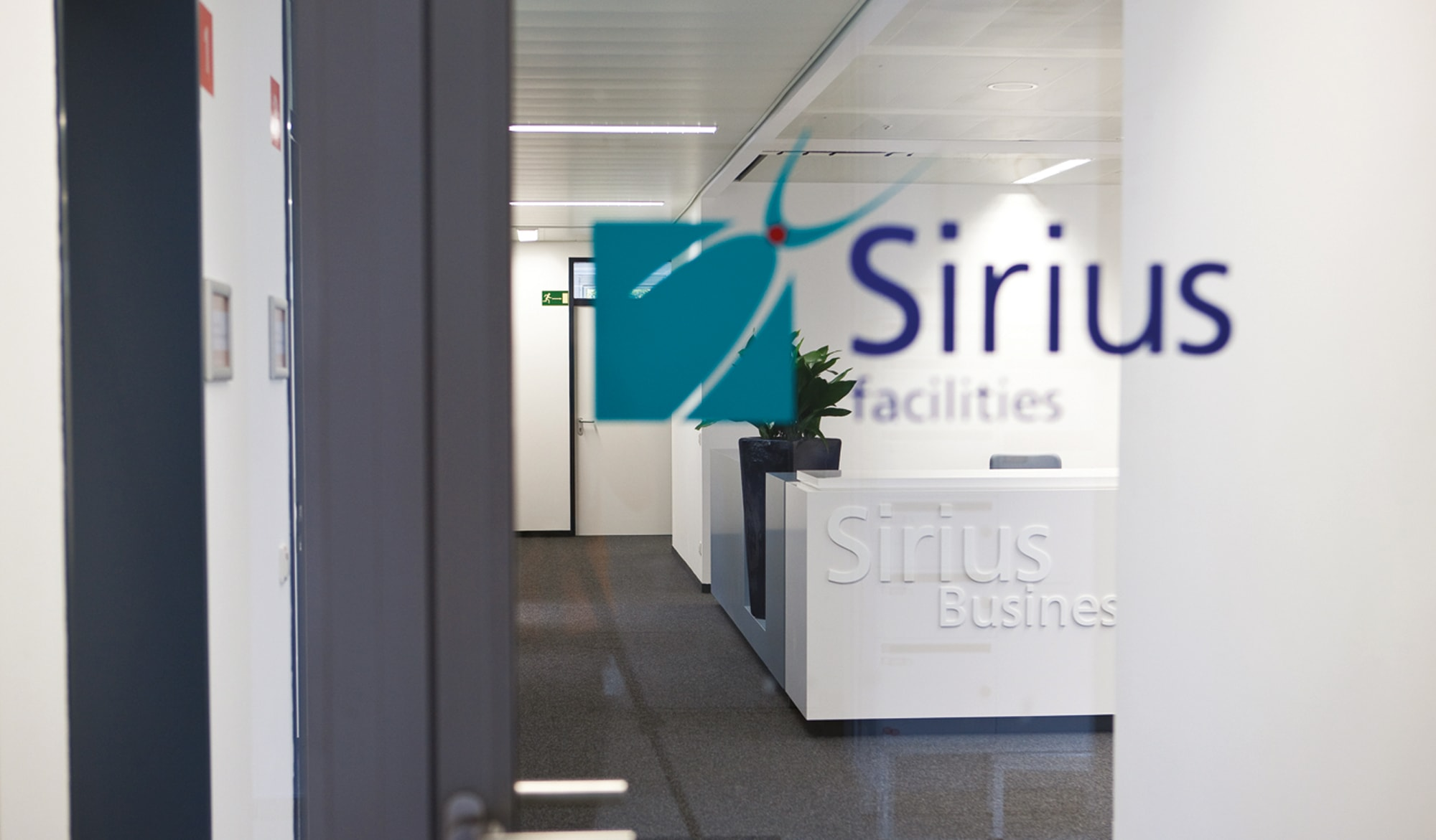 Sirius Facilities signage