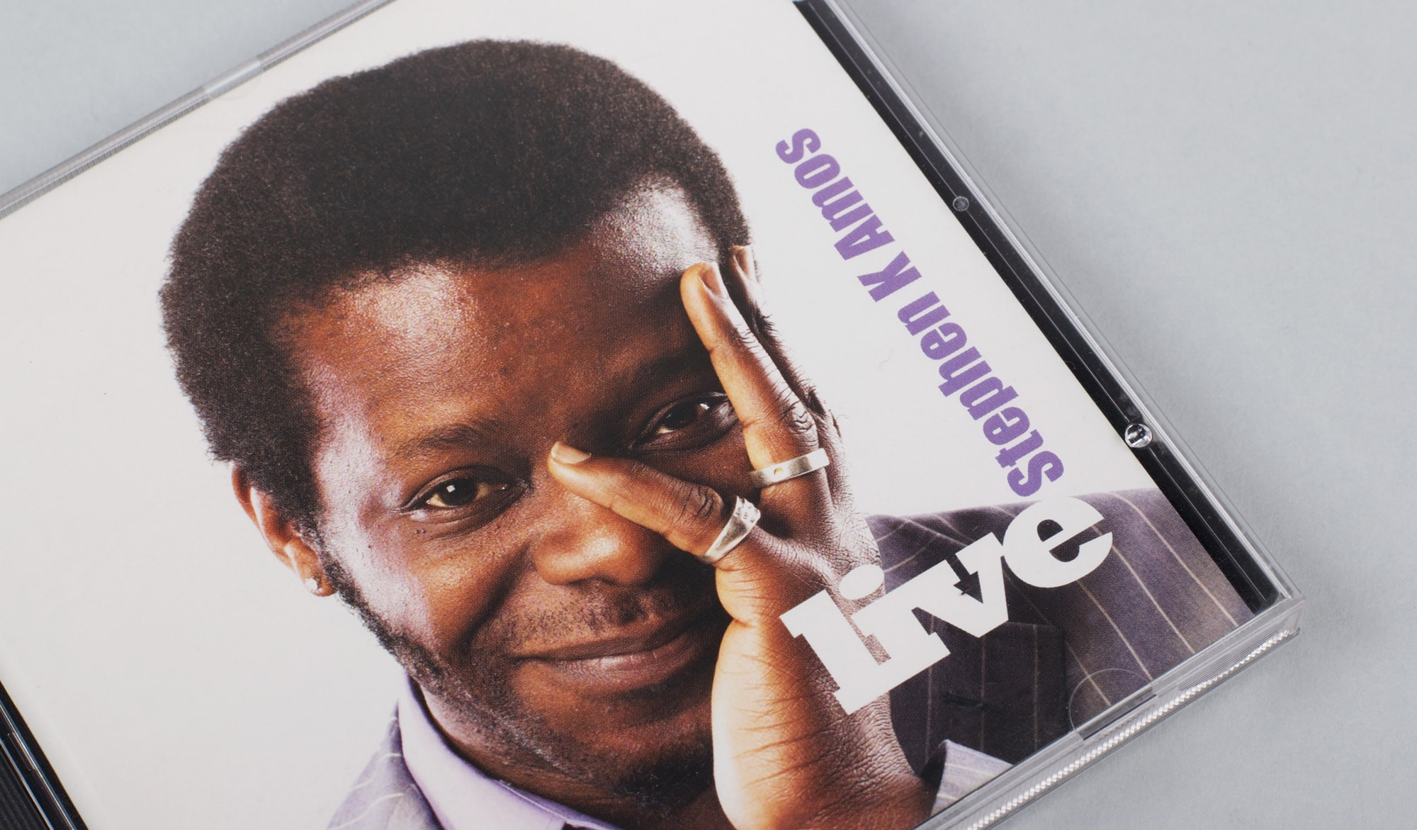 Stephen K Amos - CD front