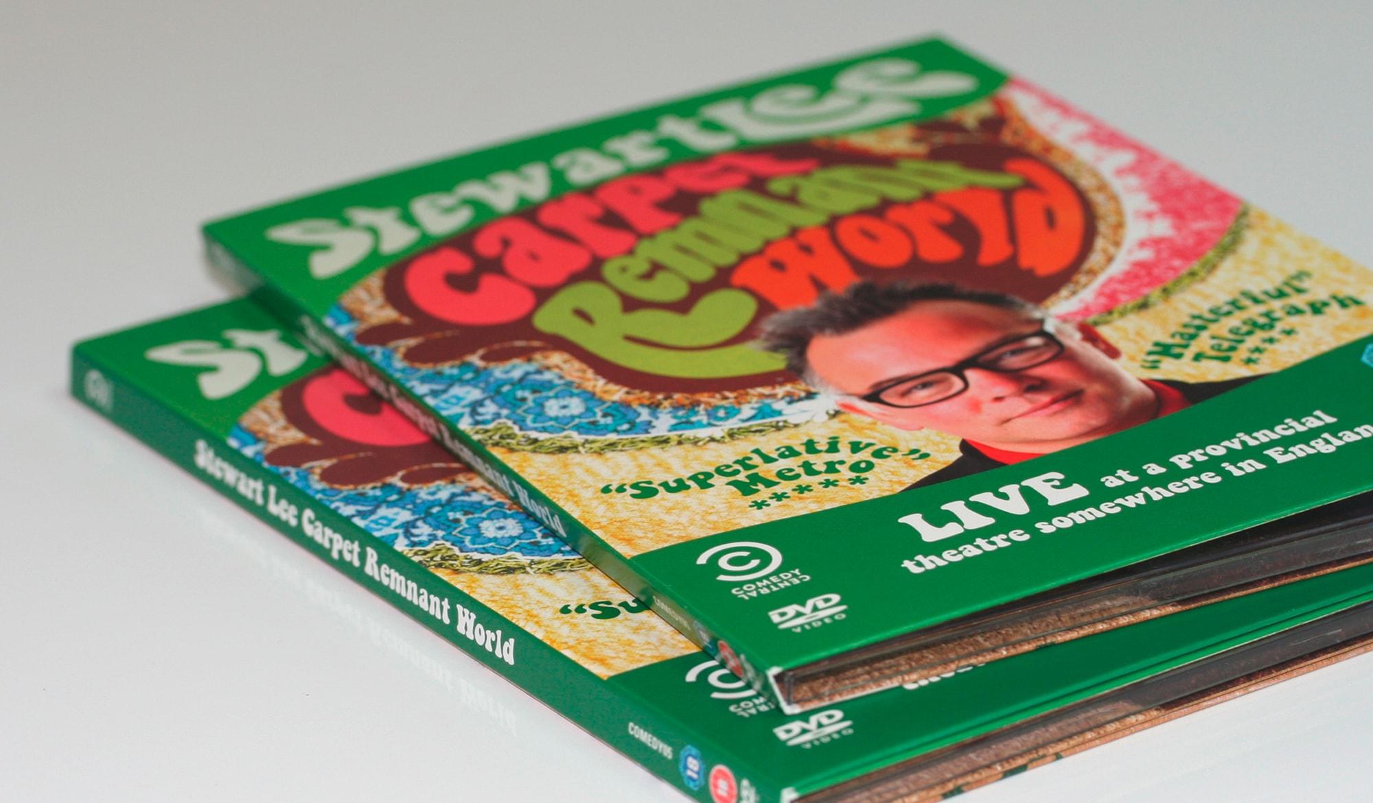 Stewart Lee - carpet world DVD