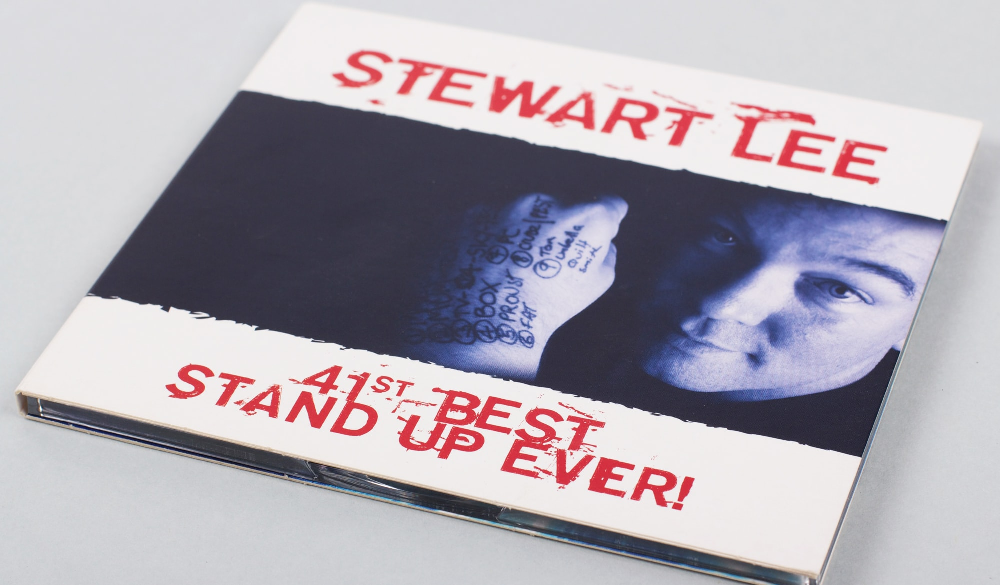 Stewart Lee - CD cover