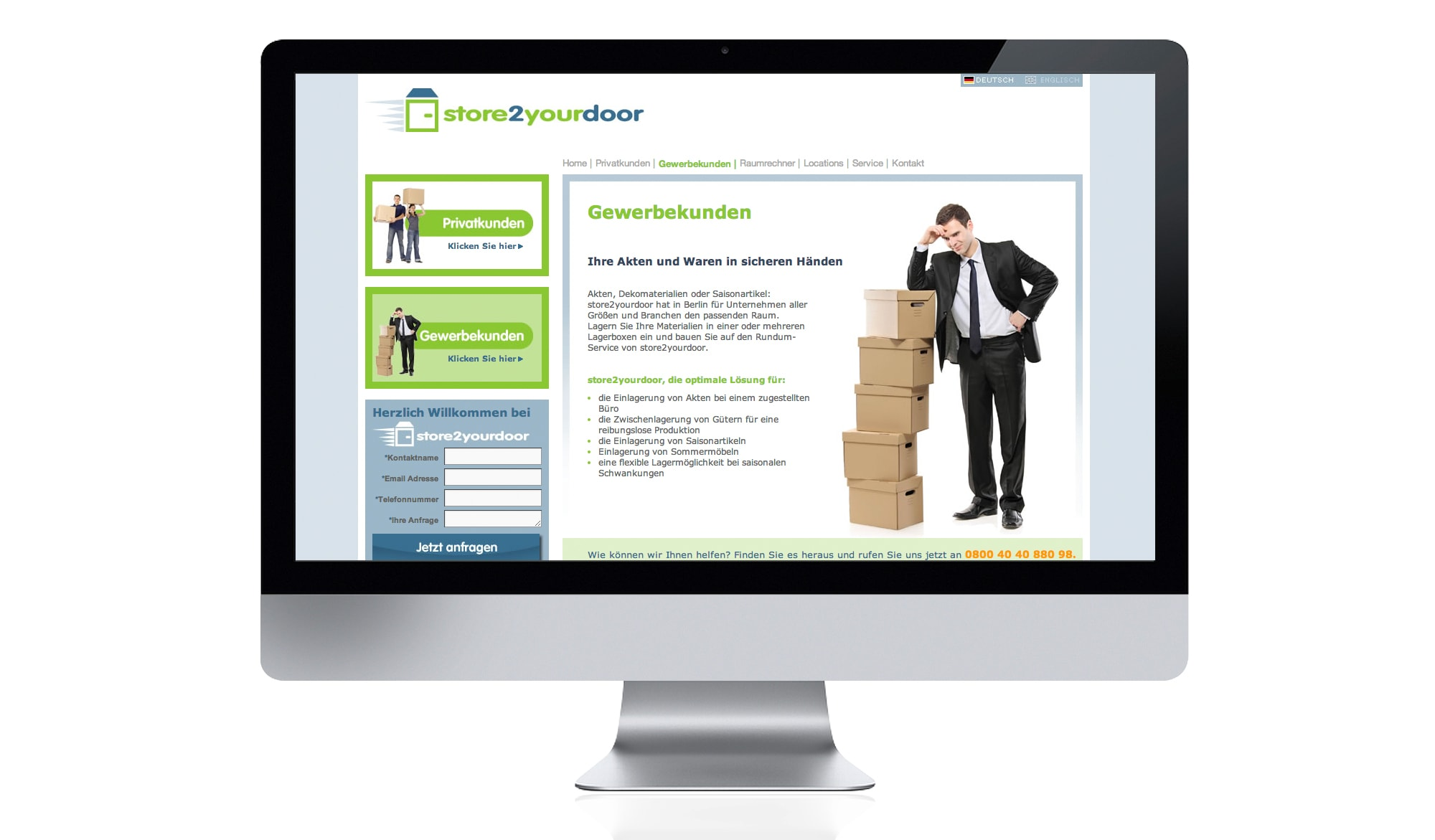 Our Work Case Study Store2yourdoor Gmbh Clients And Portfolio
