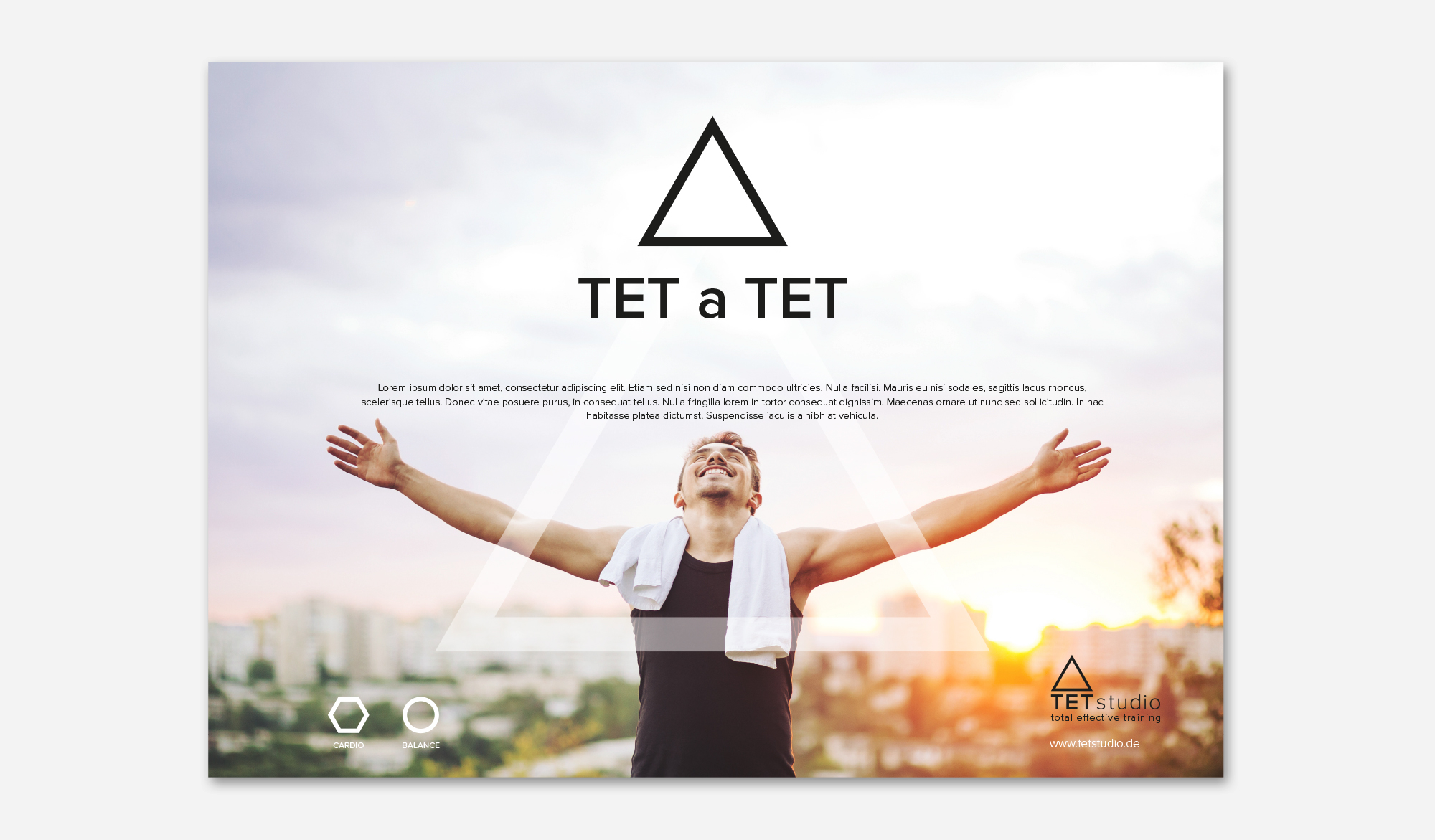 TET Studio advert