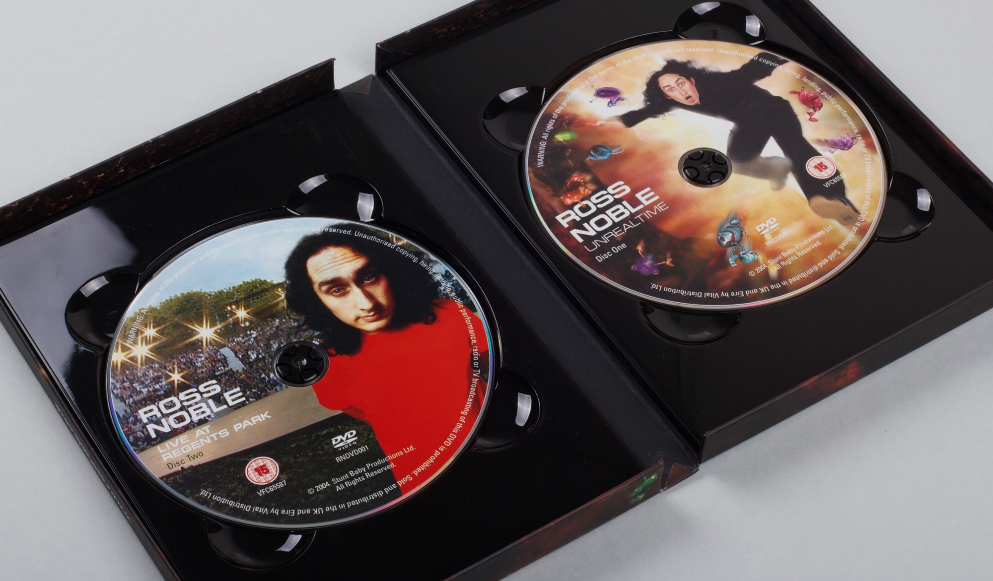 Ross Noble - Unrealtime DVD - packaging