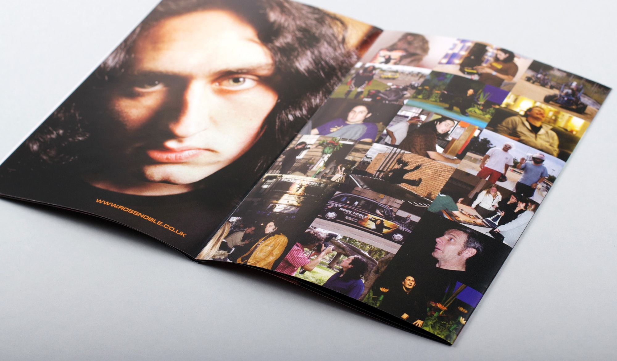 Ross Noble - Unrealtime DVD - booklet