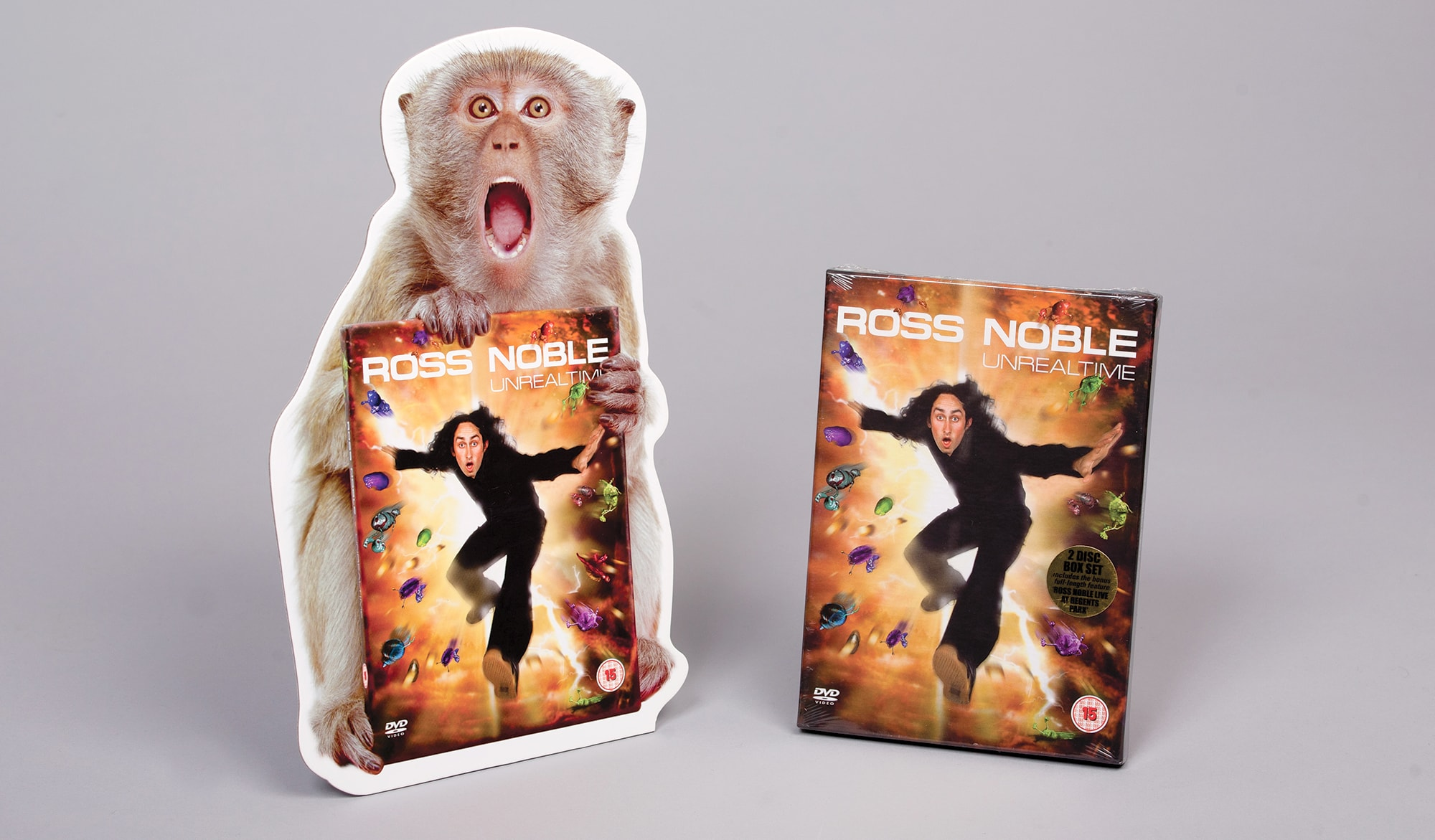 Ross Noble - Unrealtime DVD - POS