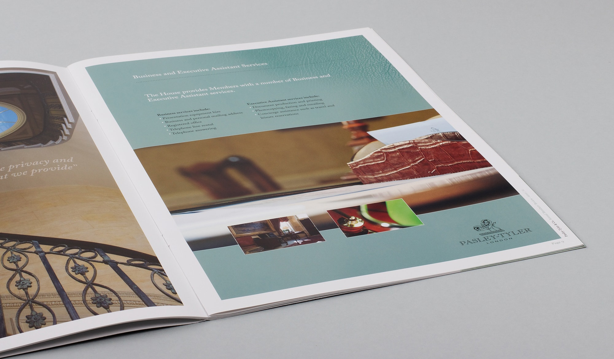 Pasley Tyler corporate brochure