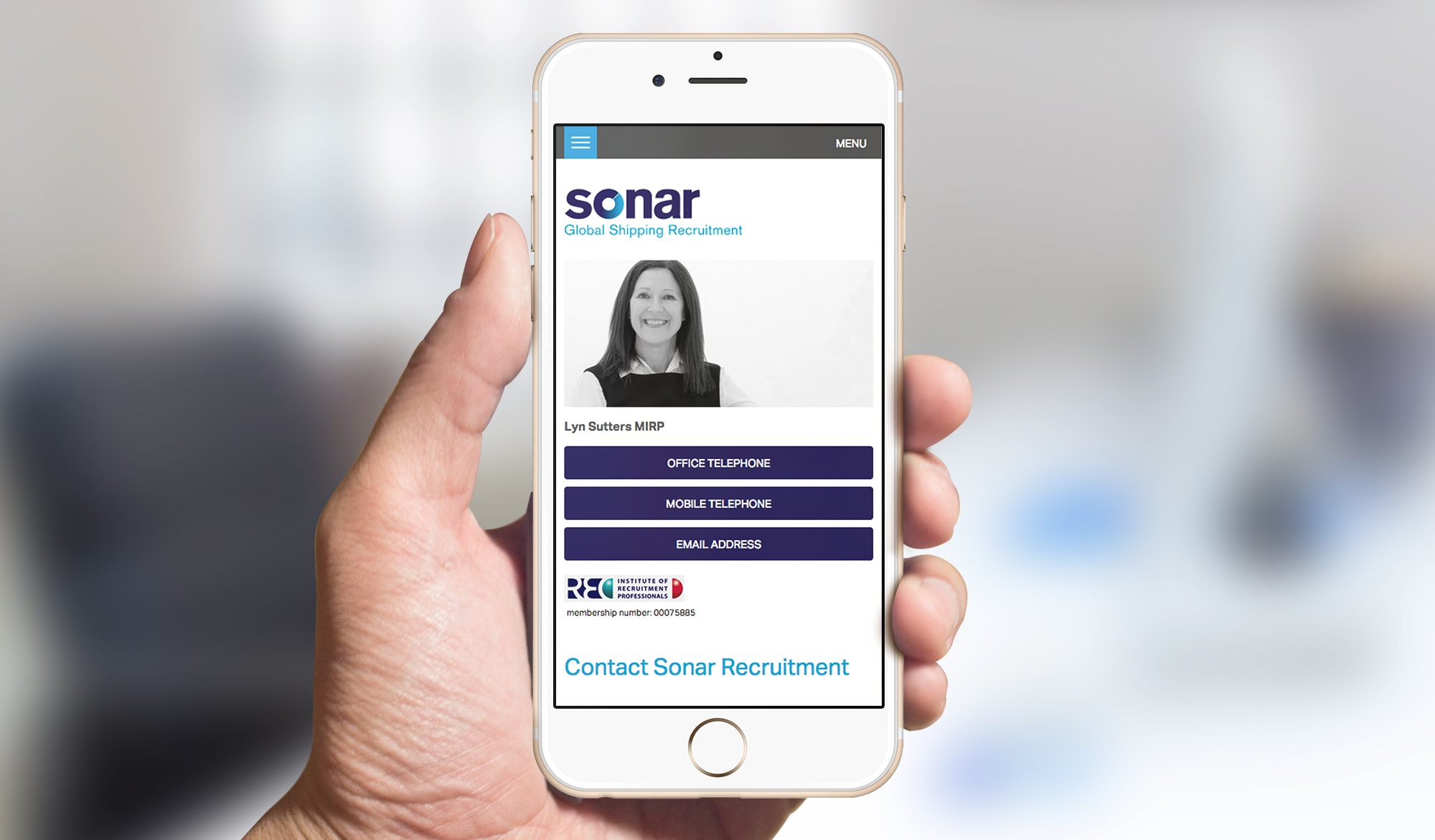 Sonar recruitment mobile 2