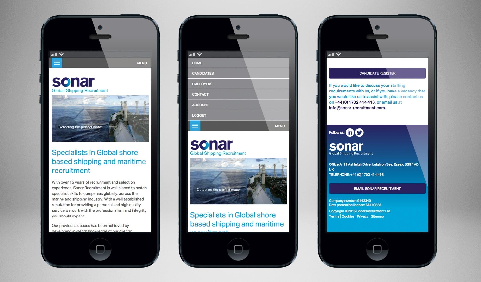Sonar recruitment mobile 3